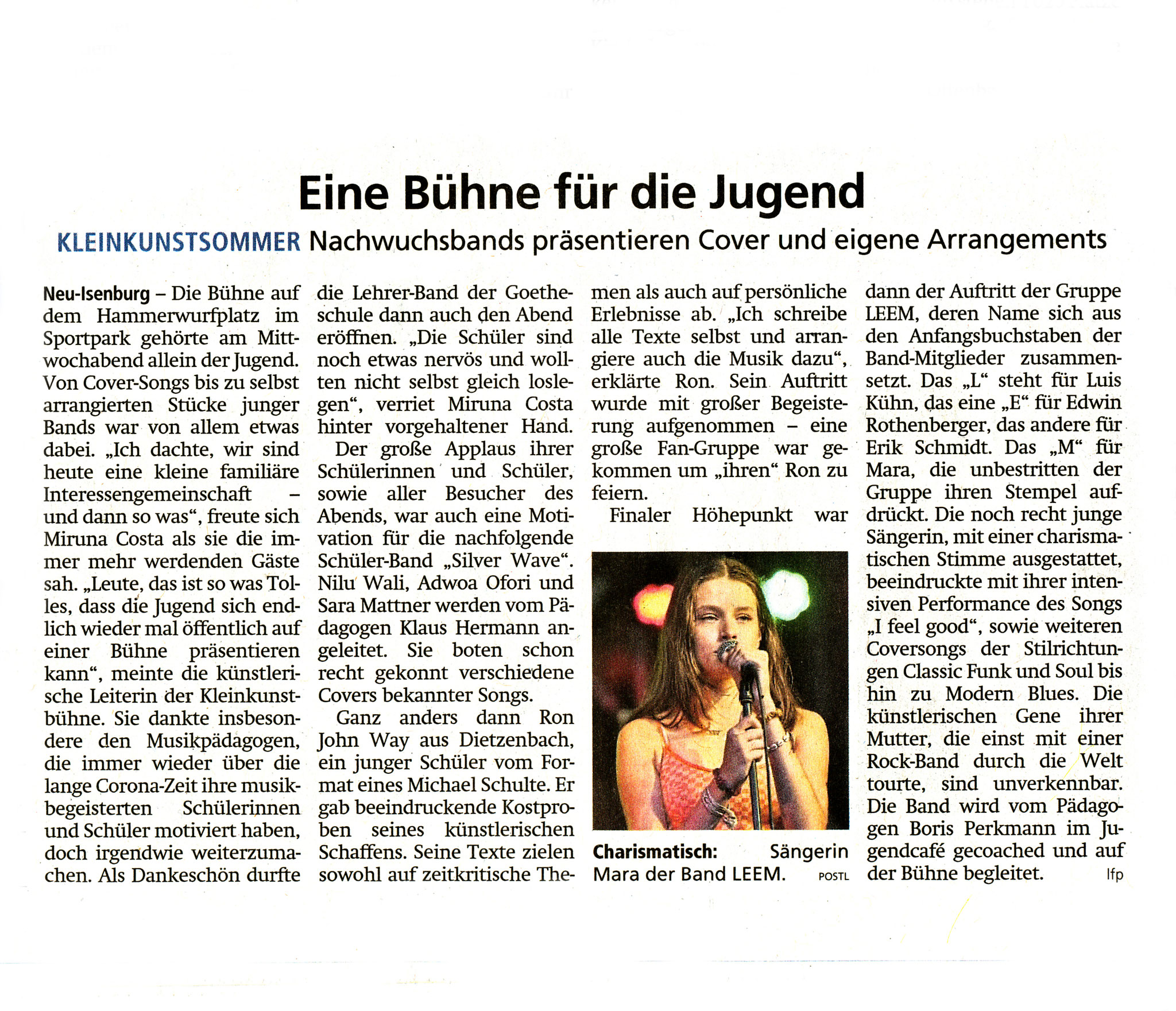 Offenbach Post, 24.09.2021