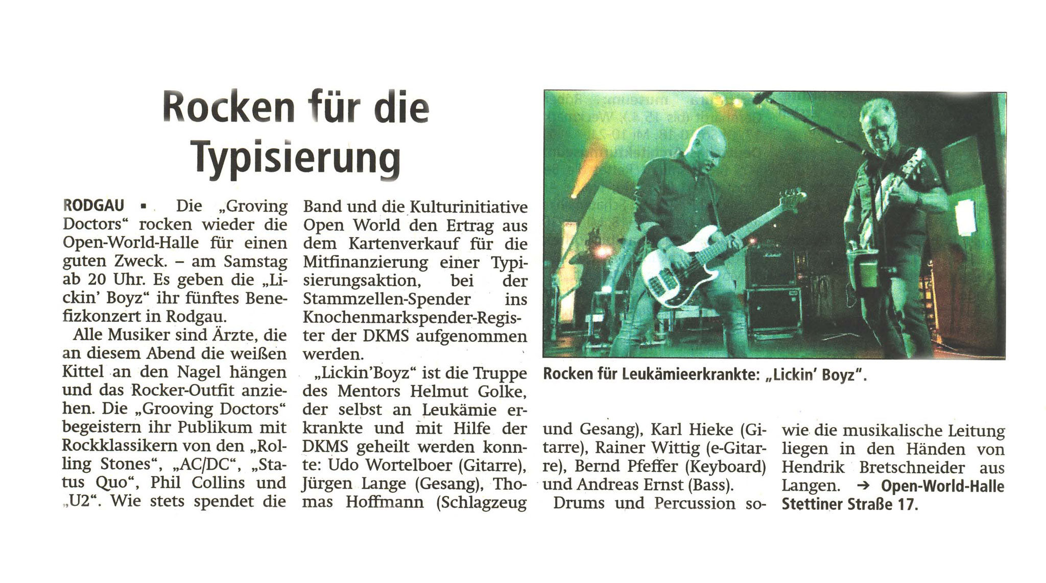 Offenbach Post, 27. Januar 2018