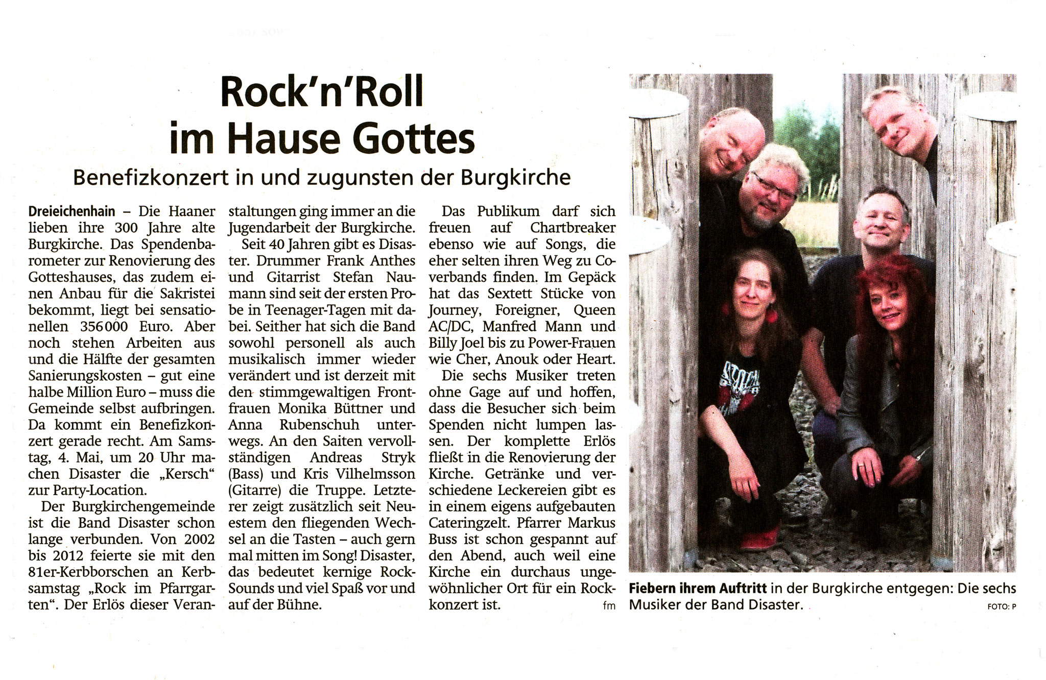 Offenbach Post, 26. April 2019