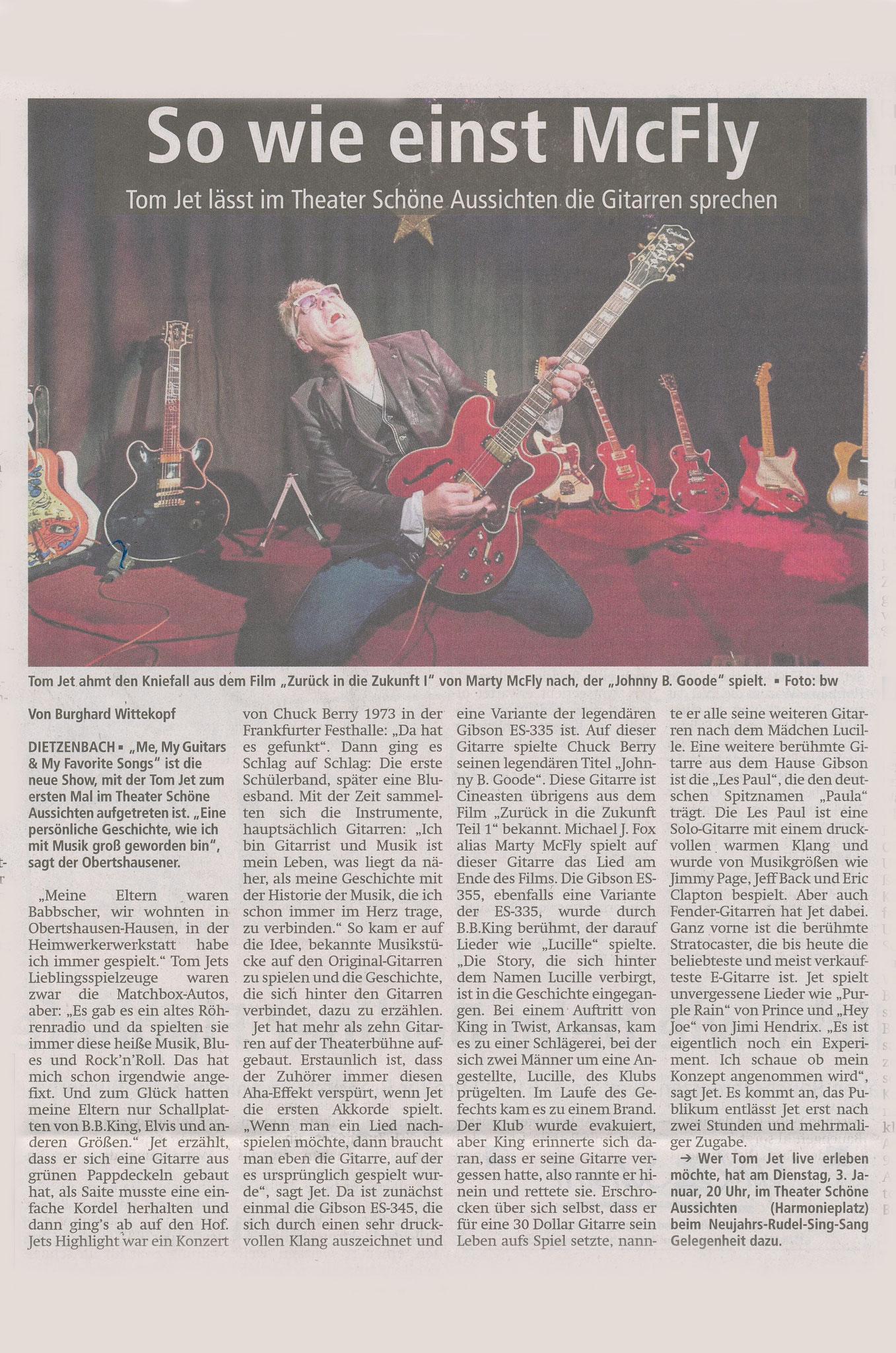 Offenbach Post, 10. Dezember 2016