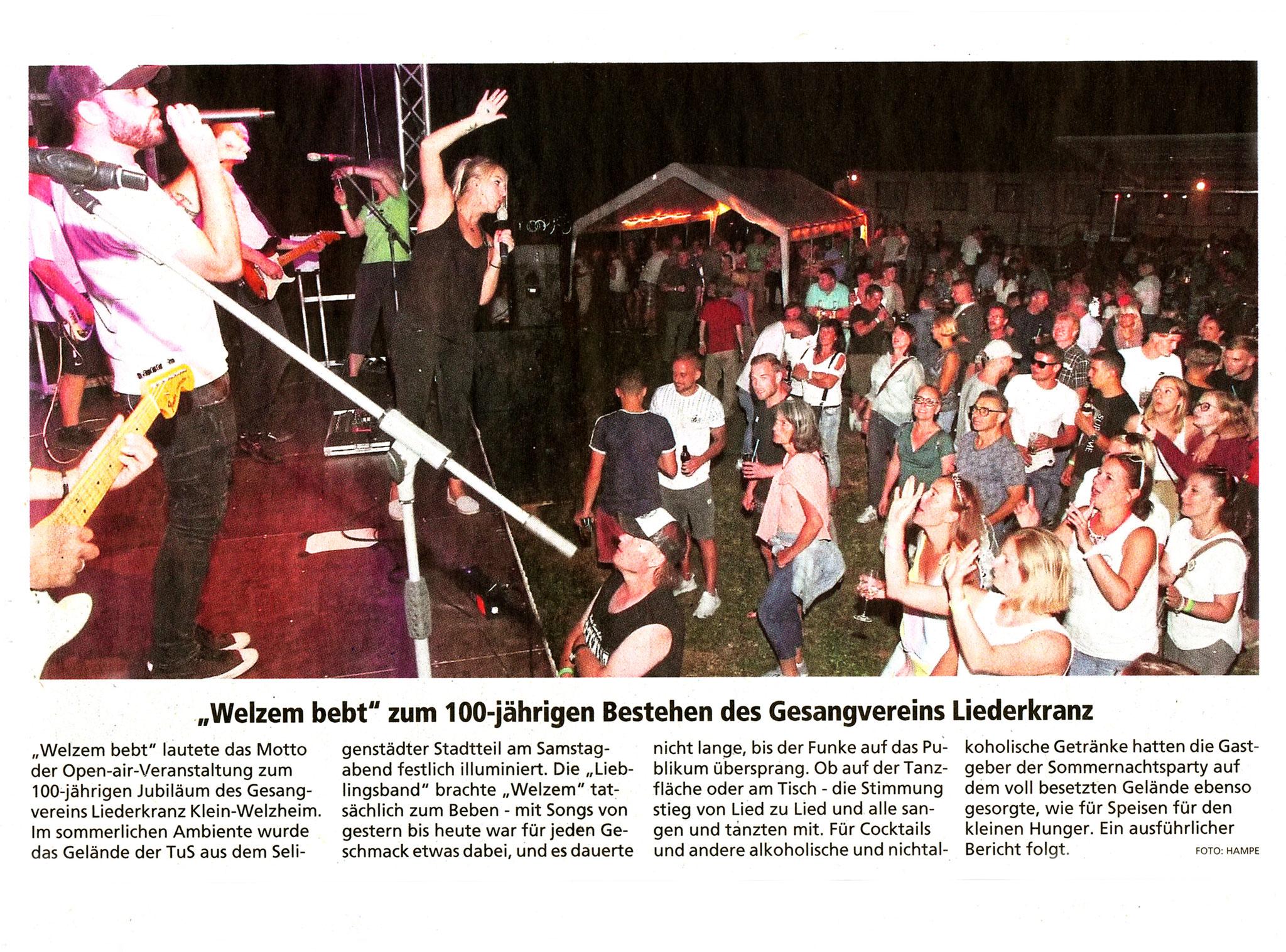 Offenbach Post, 8. Juli 2019