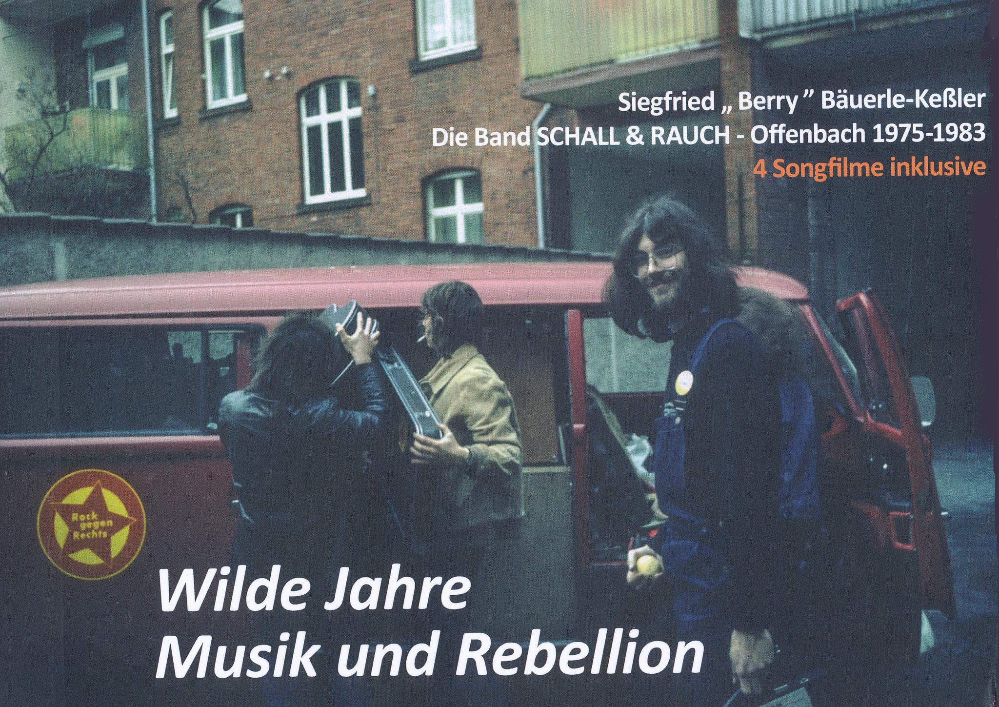 """Buchcover """"Wilde Jahre - Musik und Rebellion"""""""