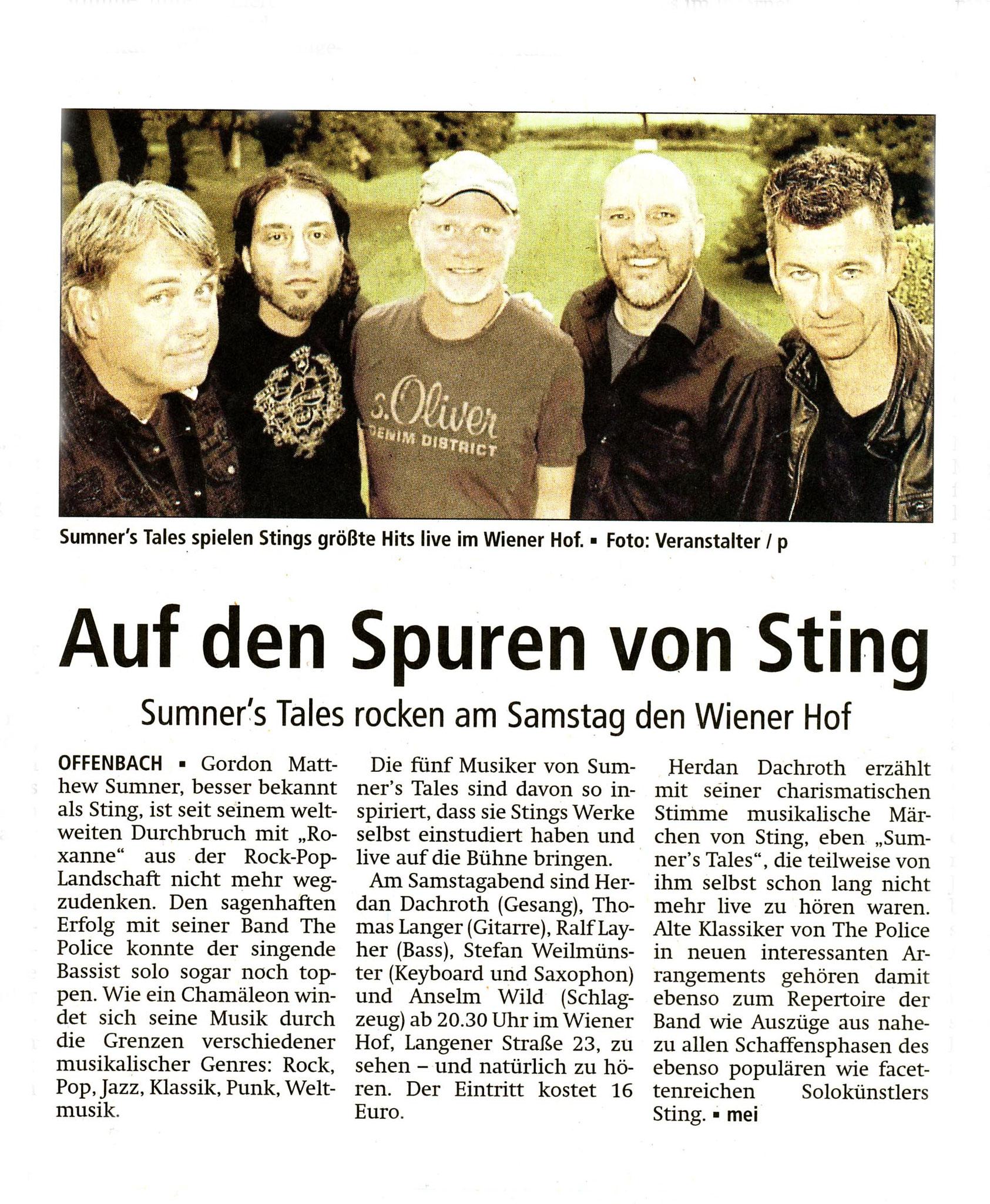 Offenbach Post, 23. März 2018