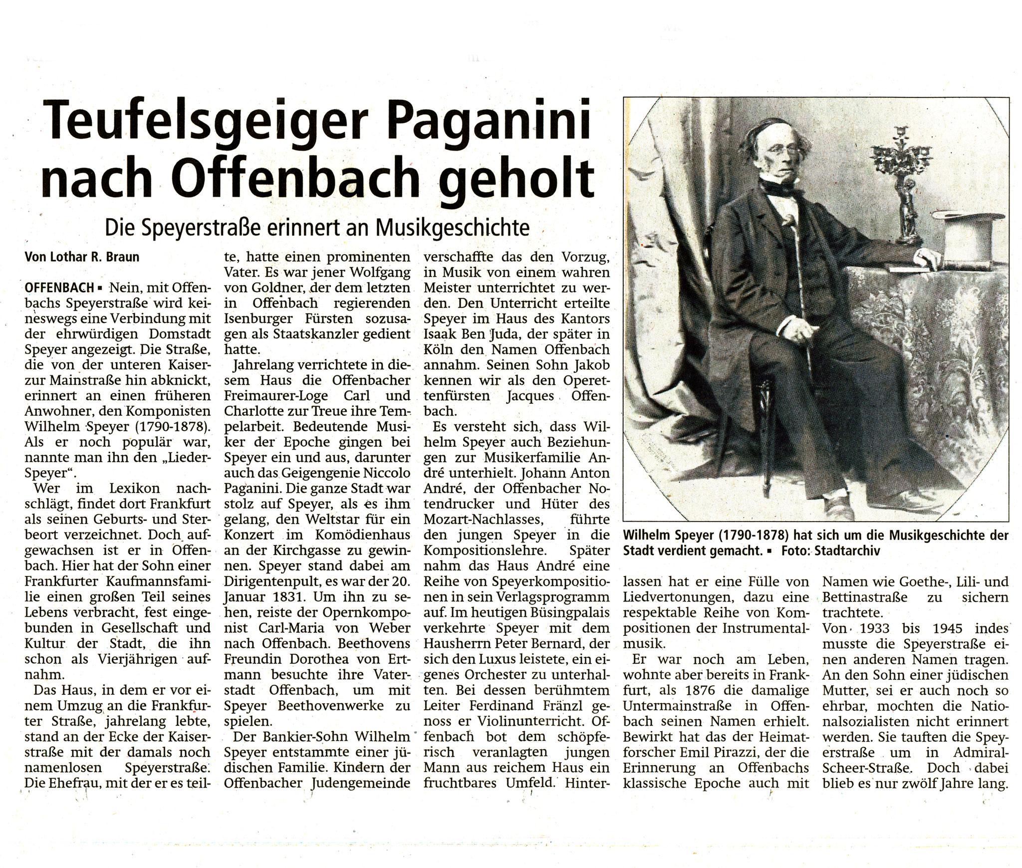 Offenbach Post, 20. Juni 2017