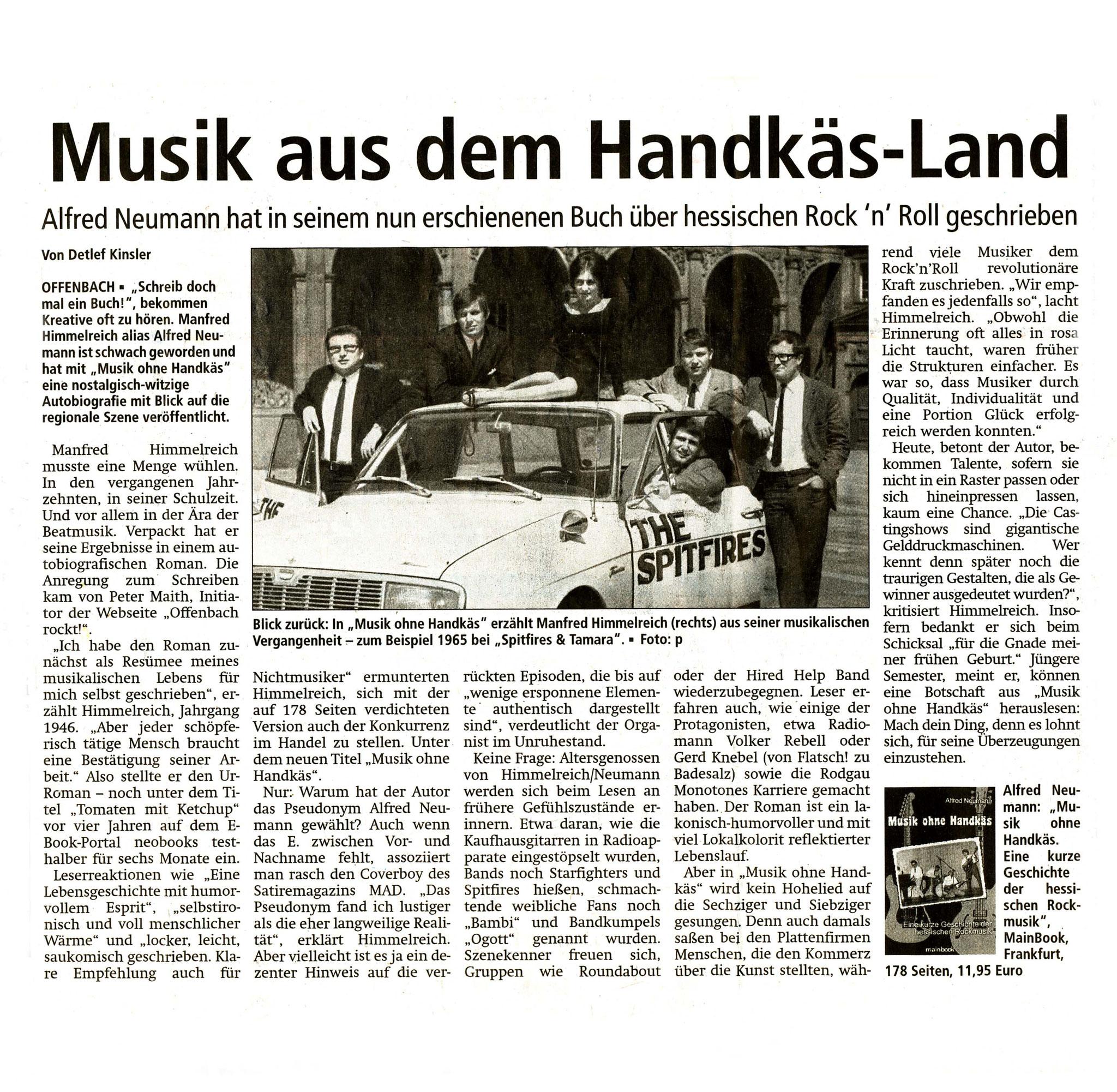Offenbach Post, 3. Januar 2017