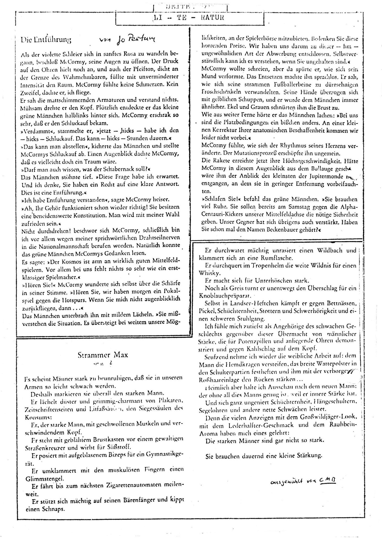Slaughterhouse - Ausgabe 0 - Seite 16