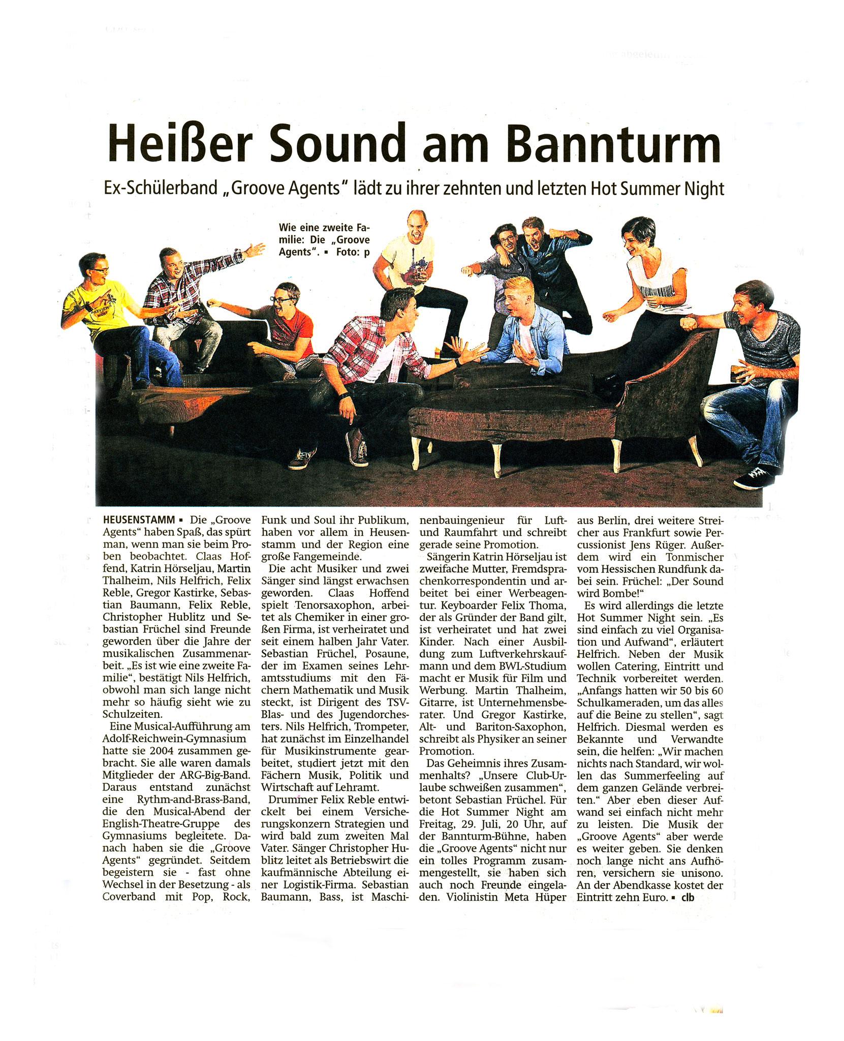 Offenbach Post, 23. Juli 2016
