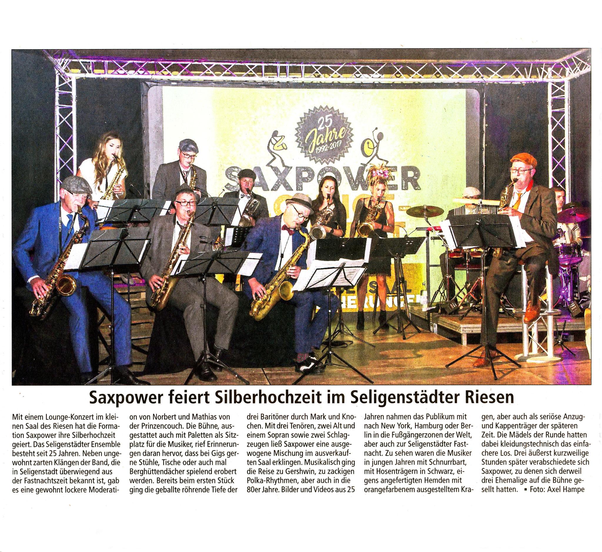 Offenbach Post, 5. Oktober 2017
