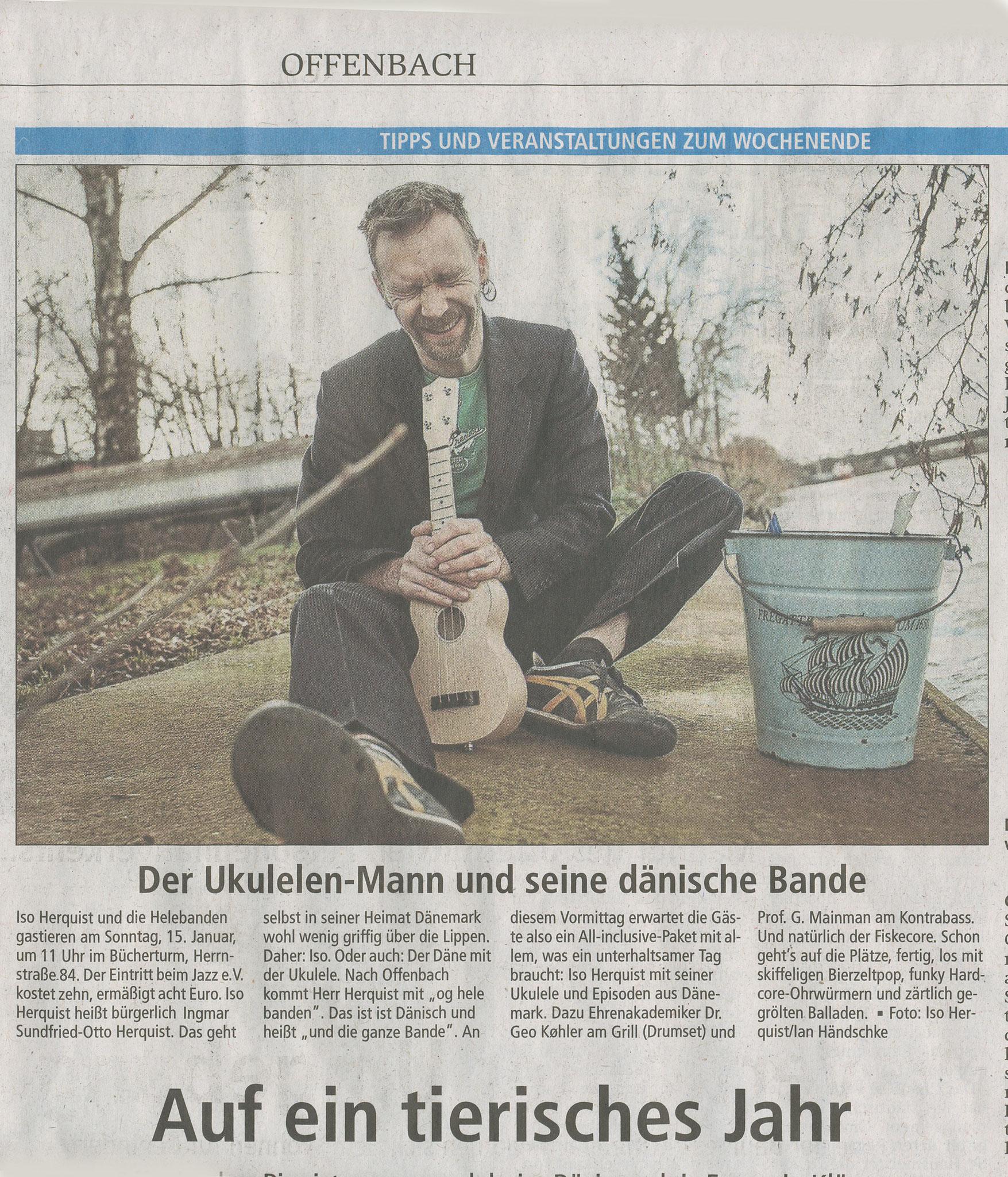 Offenbach Post, 13. Januar 2017