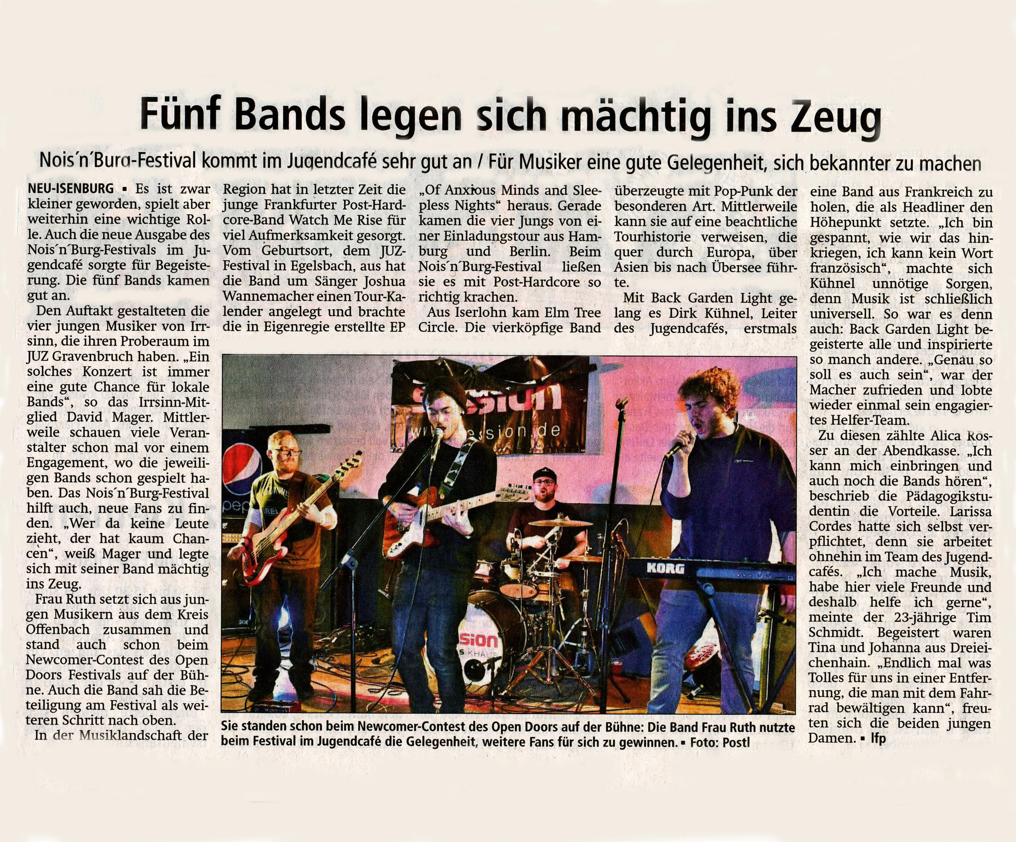 Offenbach Post, 24.10.2018
