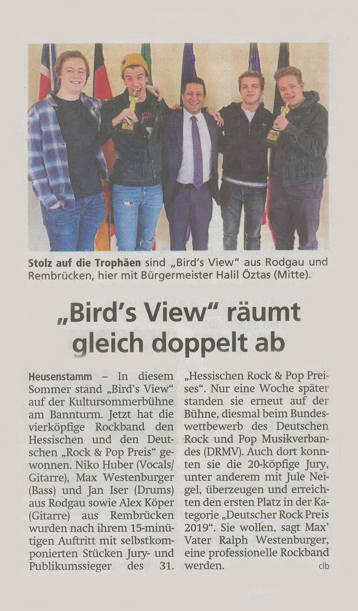 Offenbach Post, 21. Dezember 2019