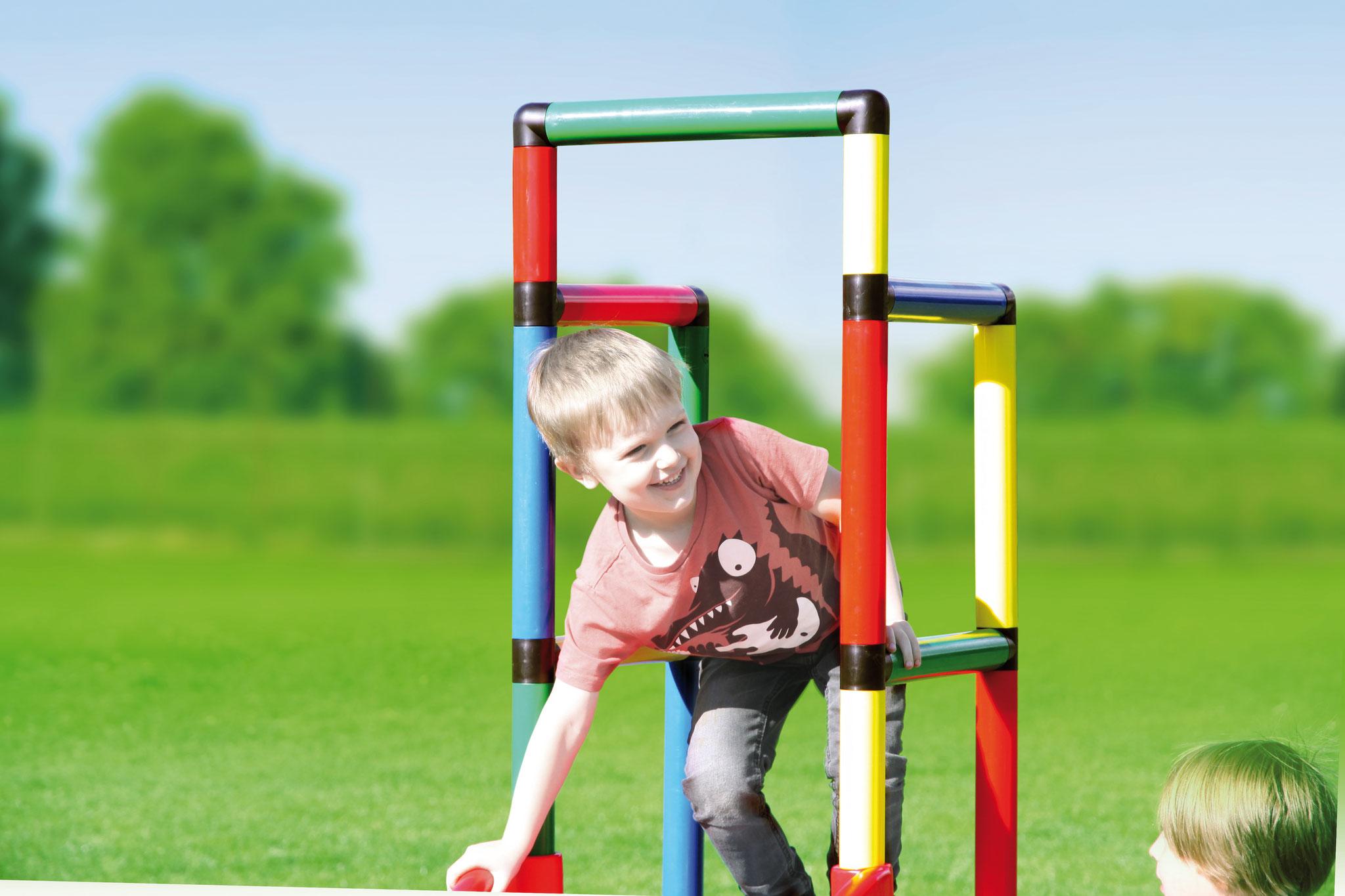 Klettergerüst Quadro Genius Kunststoff : Youngster quadro der grossbaukasten