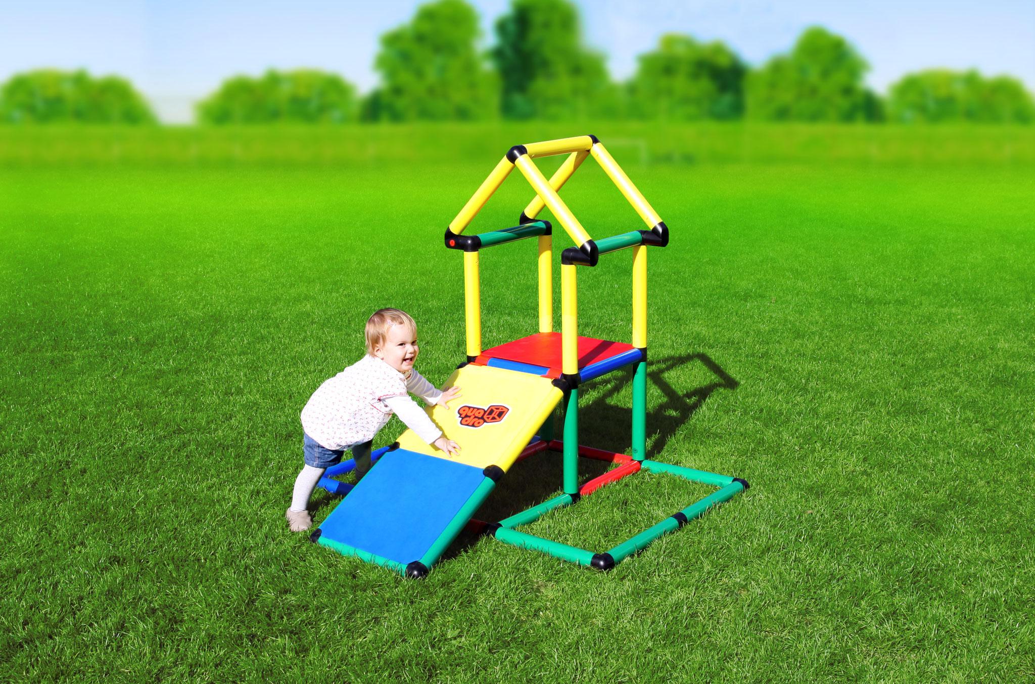 Quadro Klettergerüst Xxl : Youngster quadro der grossbaukasten