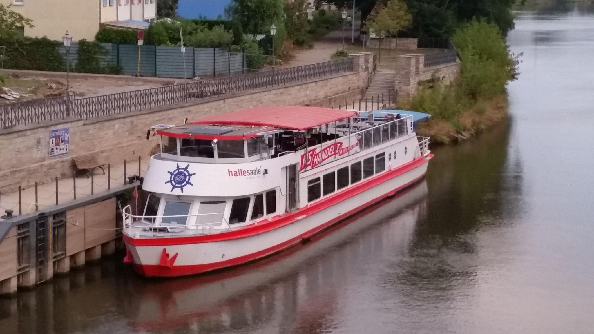 MS Händel II in Bernburg