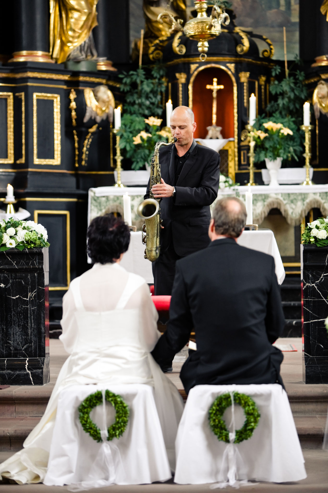Musik zur Trauung in der Kirche