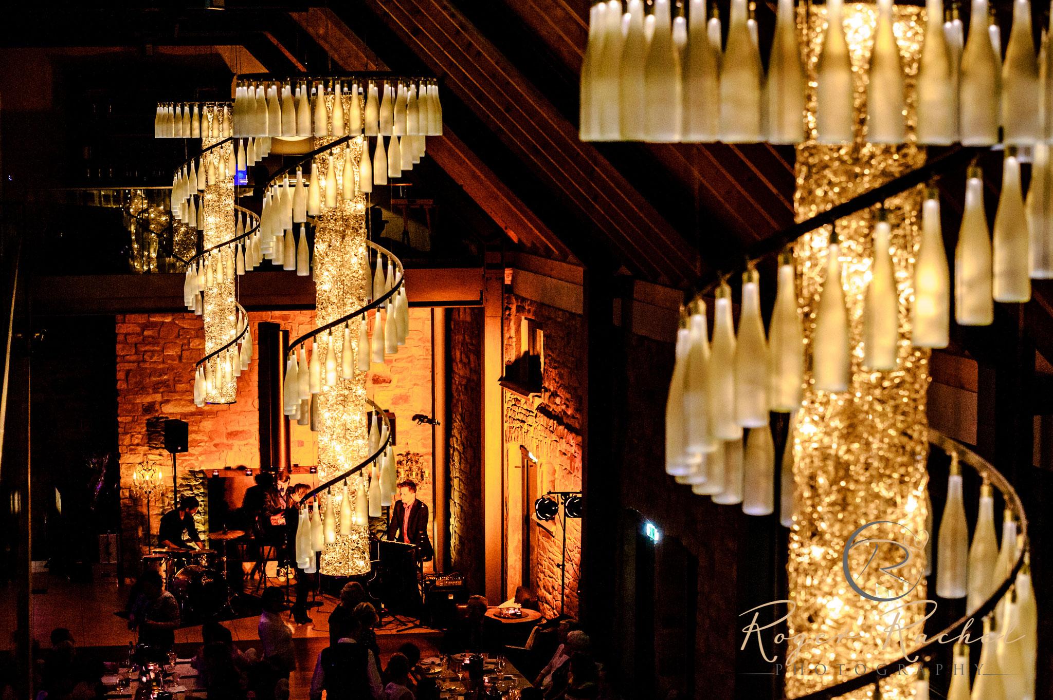 Dinnerband 'the flow' bei Hochzeit im 'Weingut am Nil' in Kallstadt/Pfalz