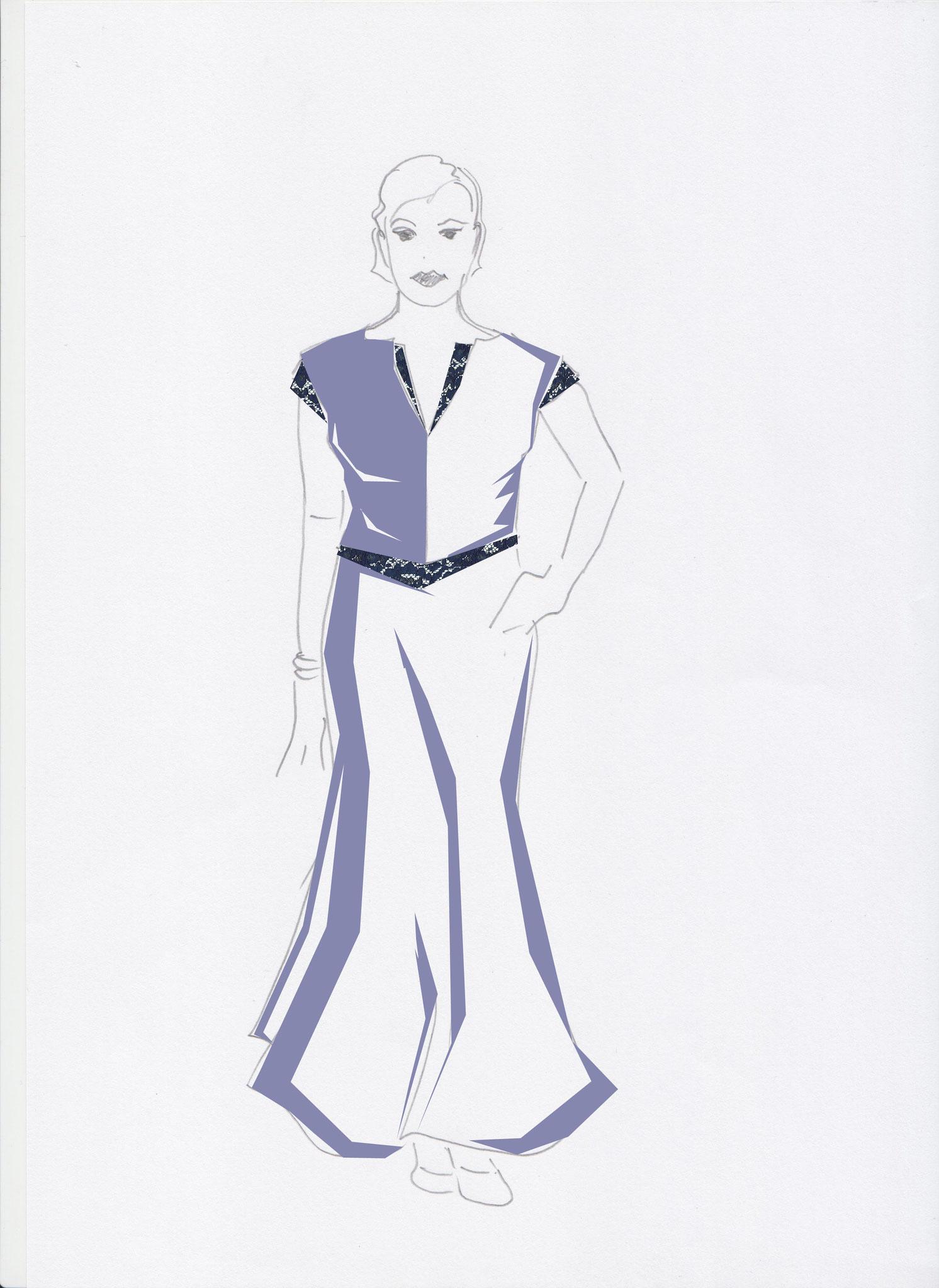 Modezeichnung Saerbeck