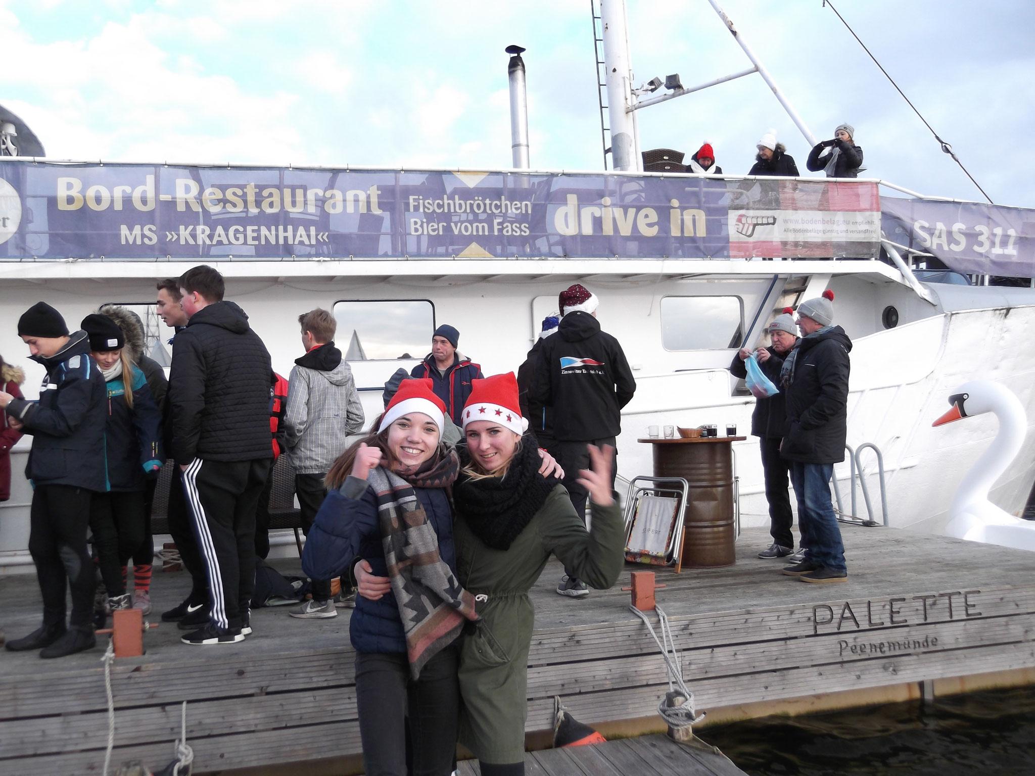 Nele Böttger und Else Schiffter, zwei junge Segeltalente des MRV