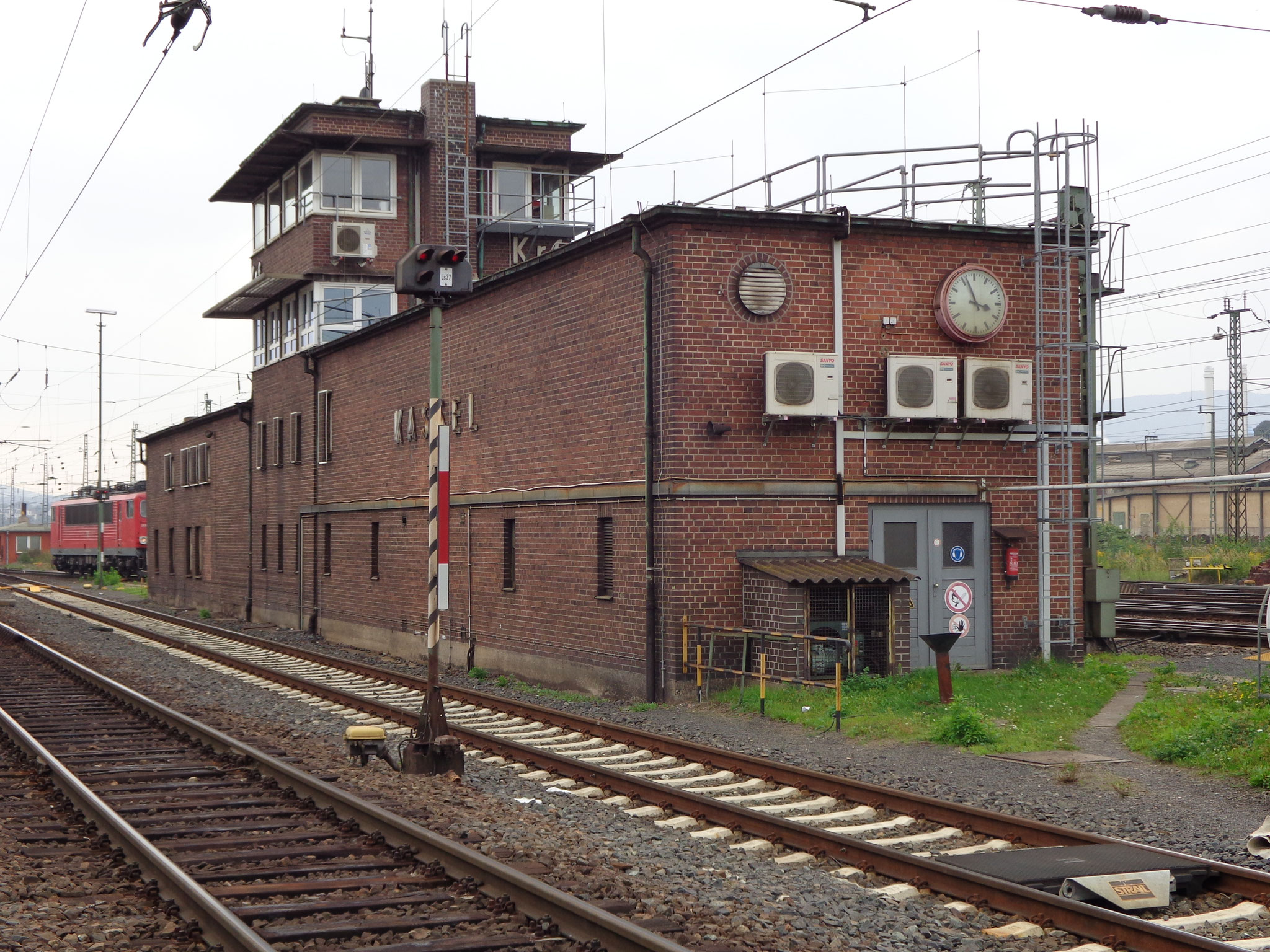 Stellwerk; Deutsche Bahn Kassel