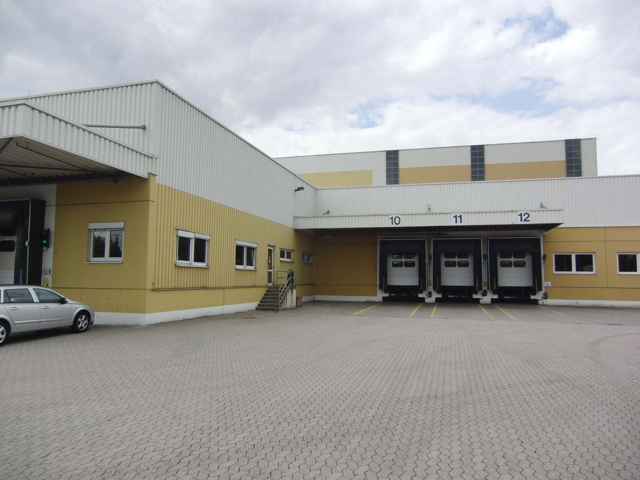 Henkel & Co. Sektkellerei KG; Hochregallager