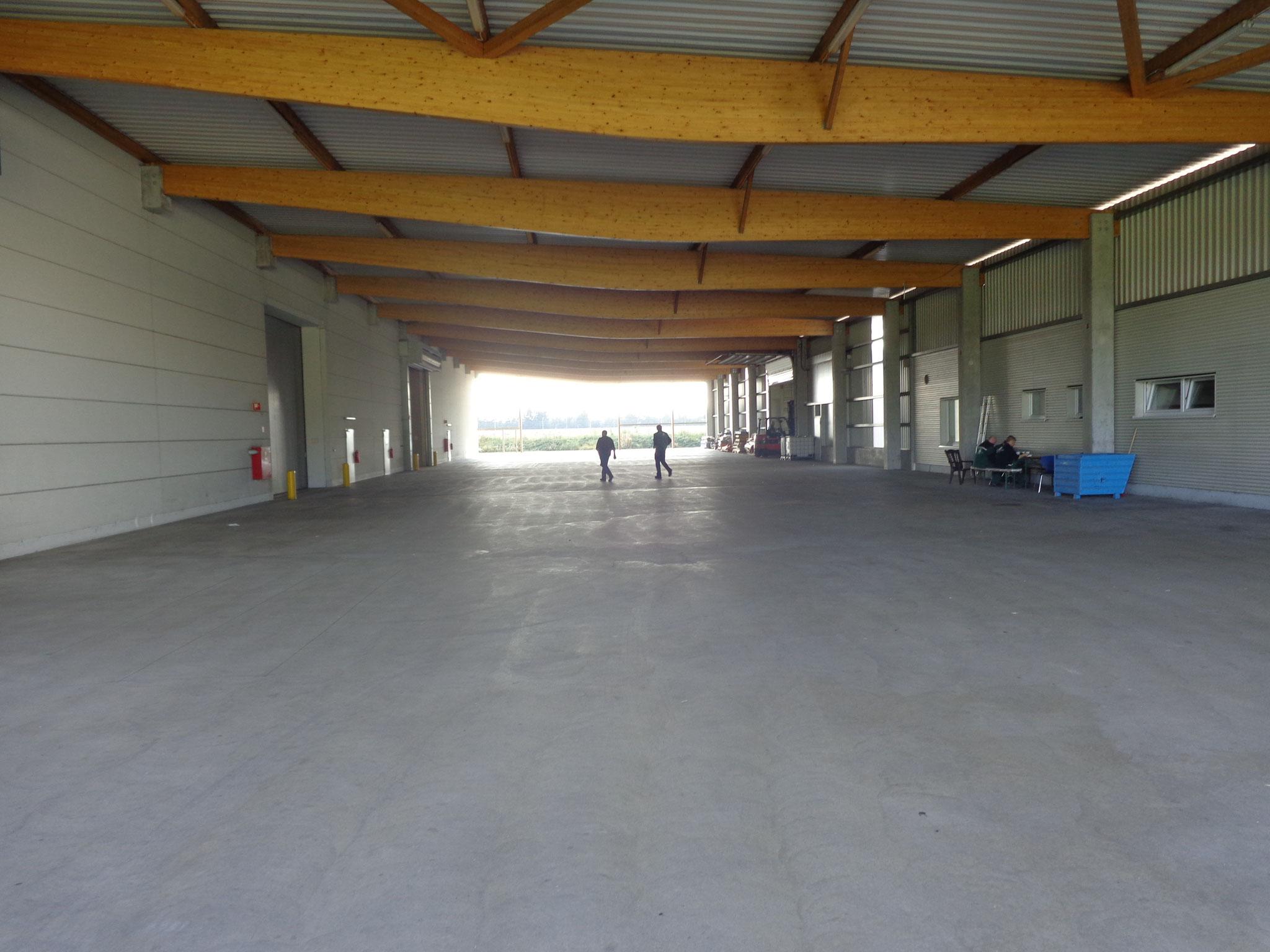 Bero Holzhandelsgesellschaft mbH; Verladezone