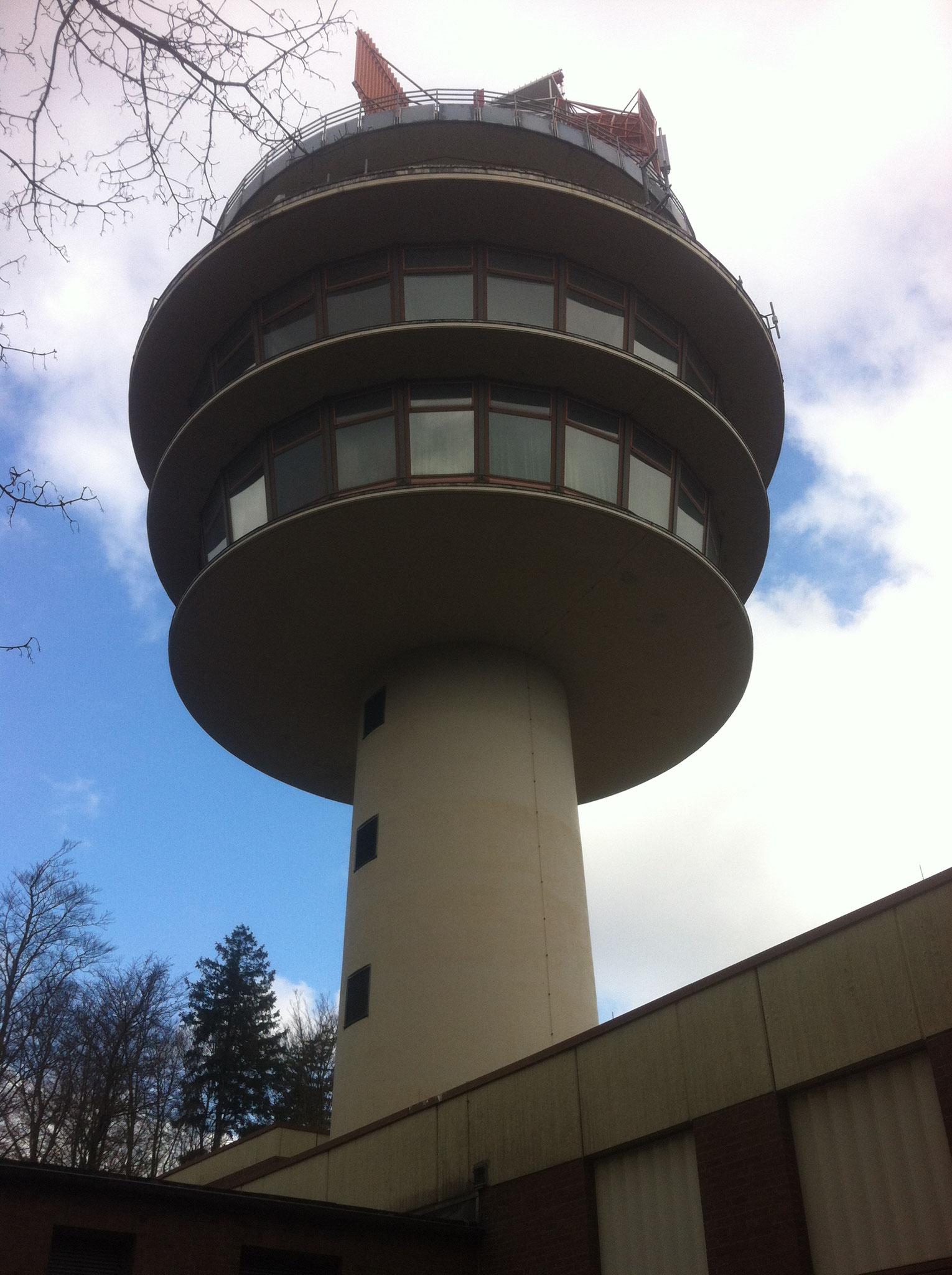 Radaranlage der Deutschen Flugsicherung
