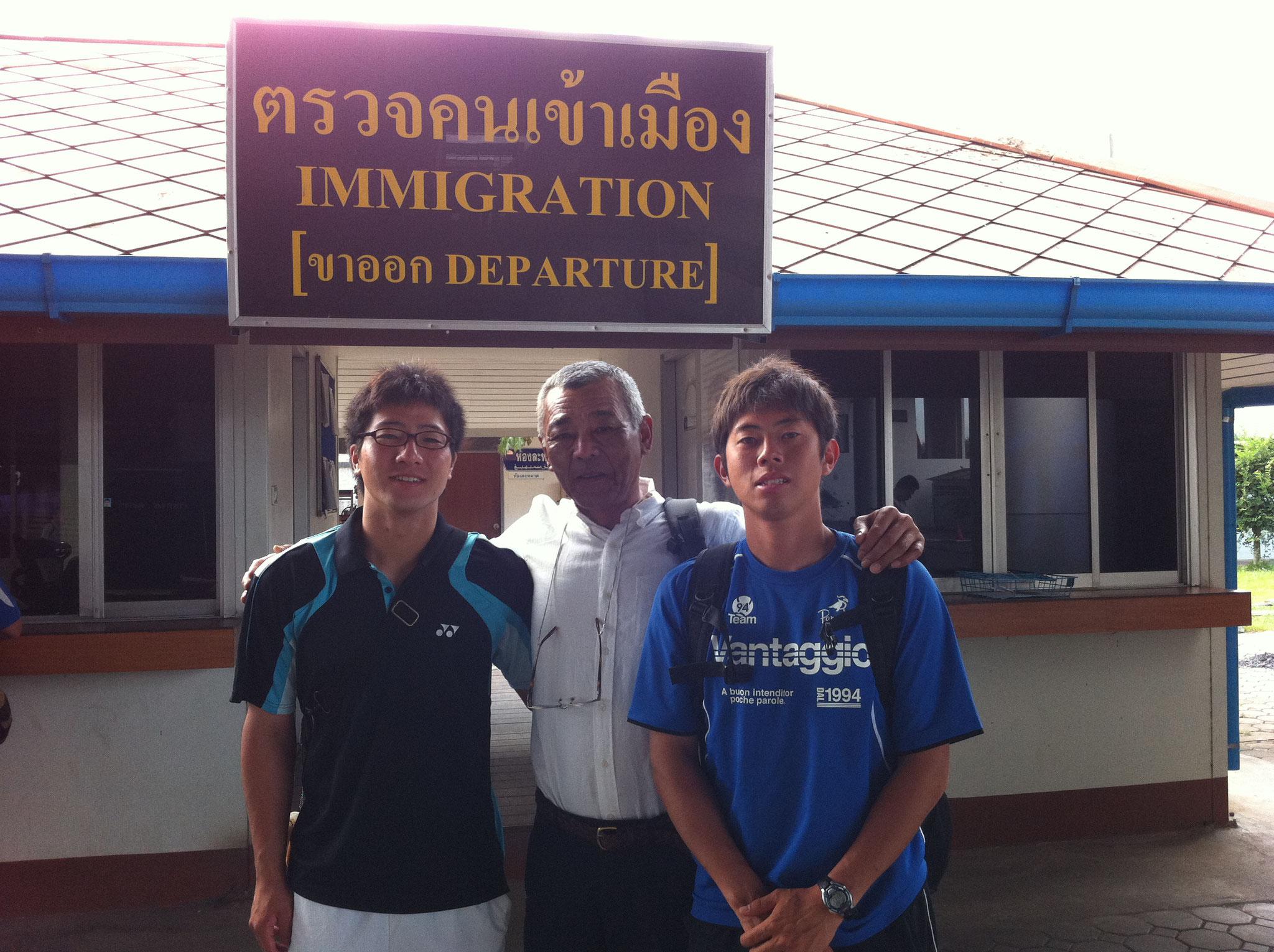 陸路移動でマレーシアへ旅立つ前に