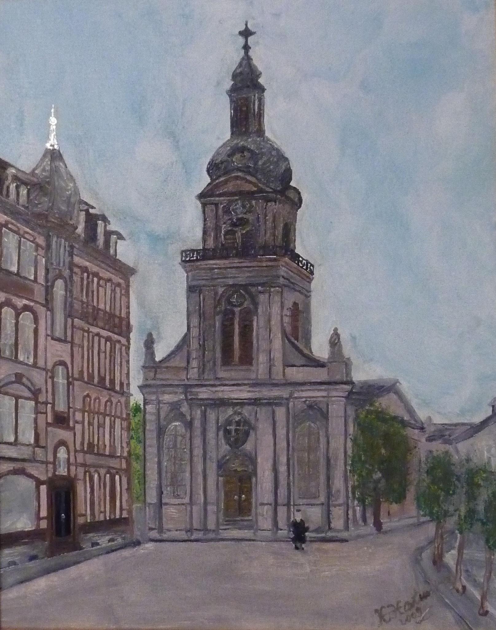 Nr. 29 Basilika St.Johann  40x50cm - 2000 €