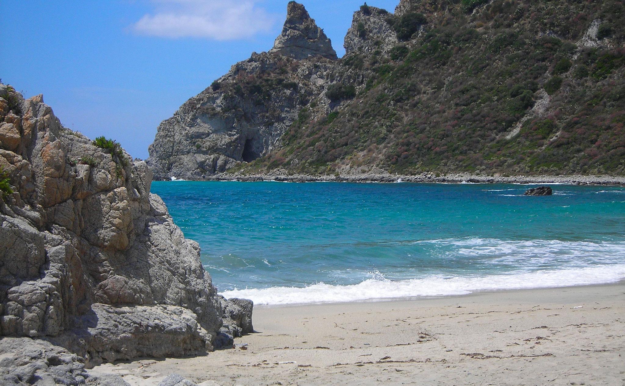 Einsame Bucht Tropea © Ferienwohnung Spilinga | Tropea | Kalabrien - Casa Belle Vacanze