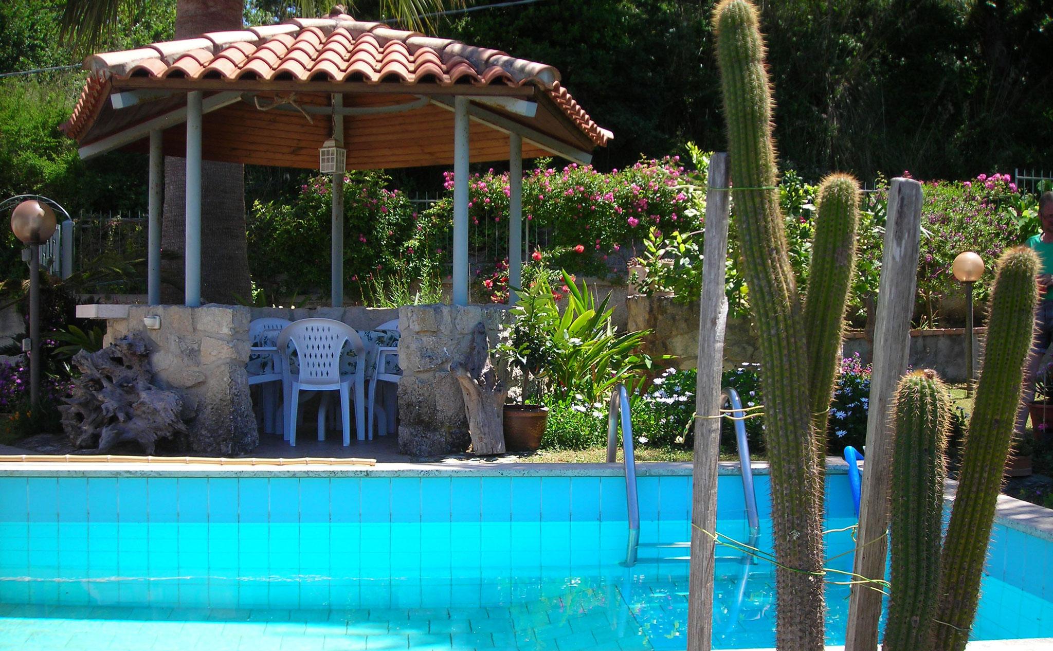 Pool Detaiiansicht © Ferienwohnung Spilinga | Tropea | Kalabrien - Casa Belle Vacanze
