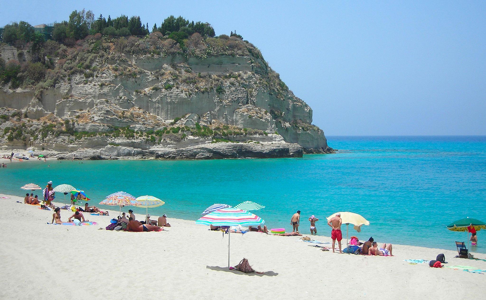Traumstrand Tropea © Ferienwohnung Spilinga | Tropea | Kalabrien - Casa Belle Vacanze