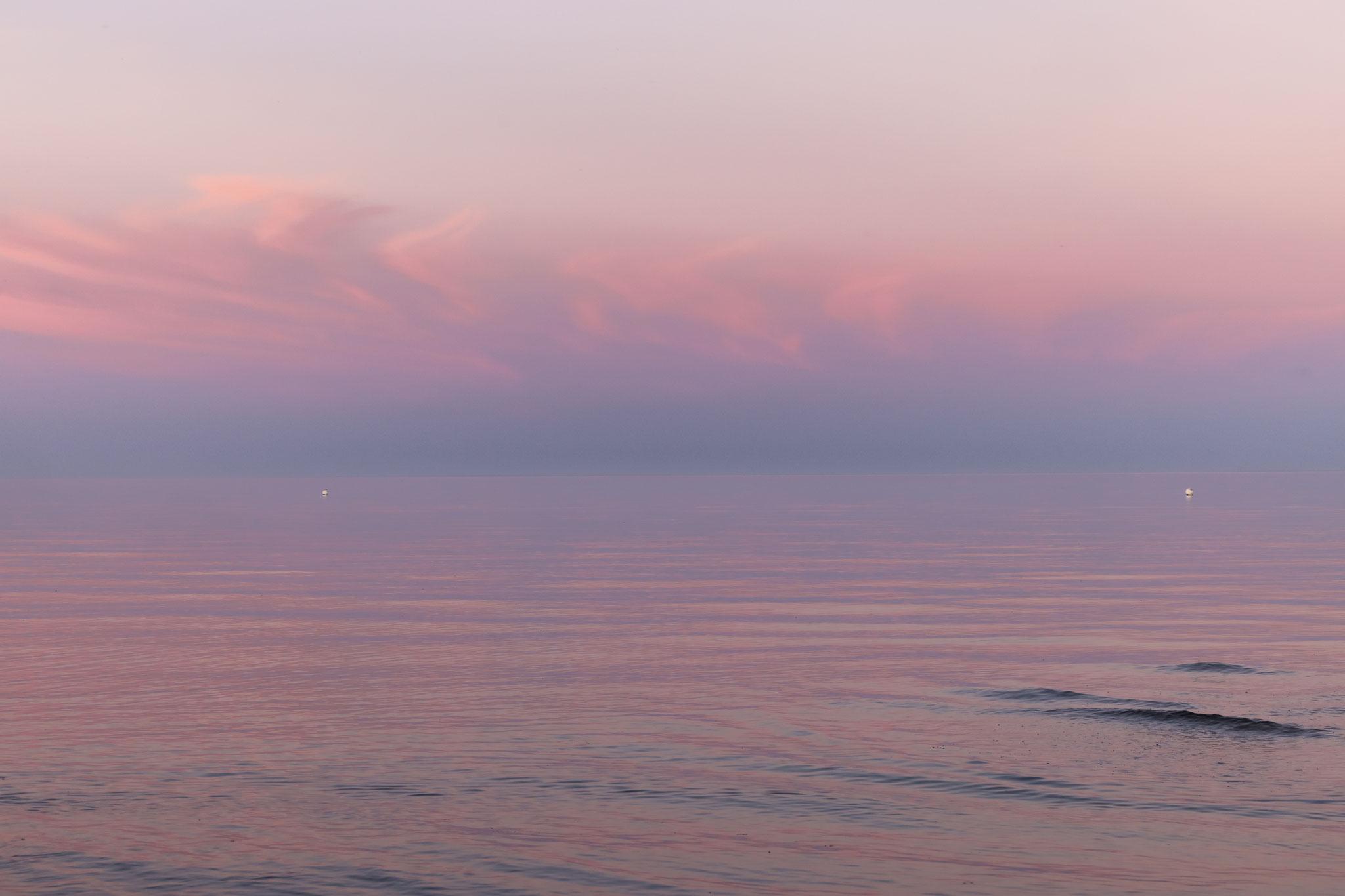 Abenddämmerung an der Ostsee