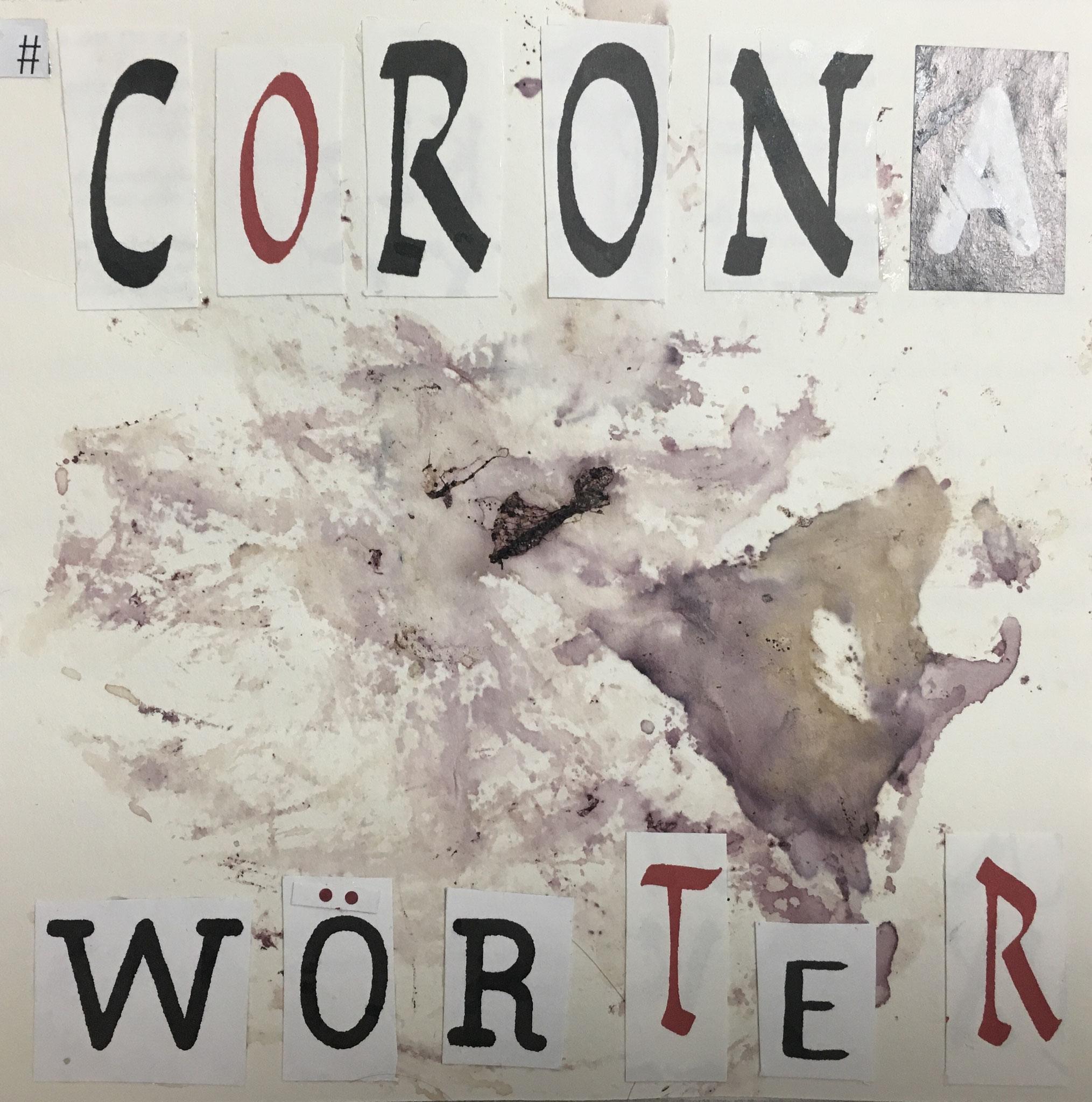 Corona Wörter ohne ende.