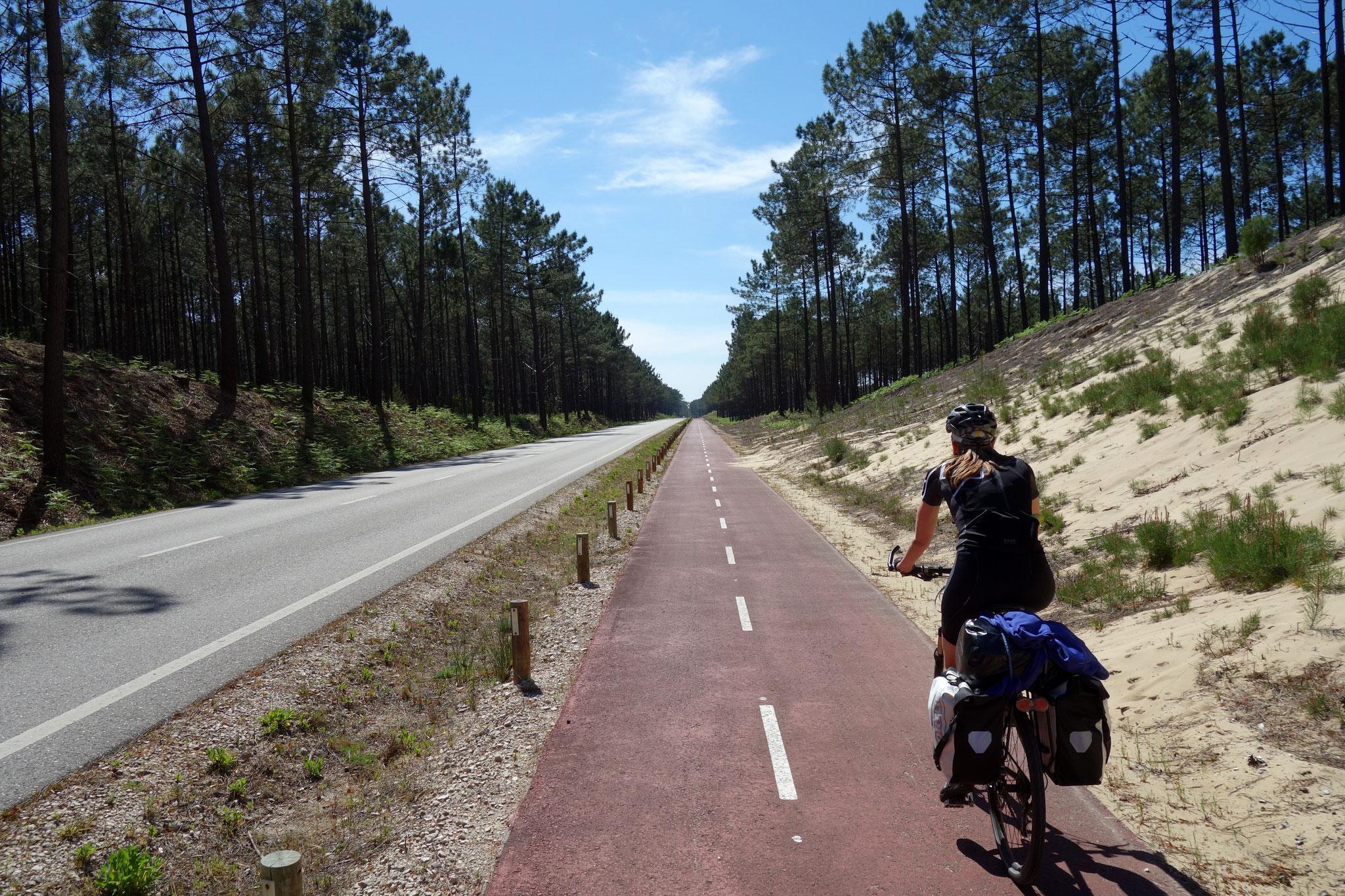 Küstenradweg nach Nazaré