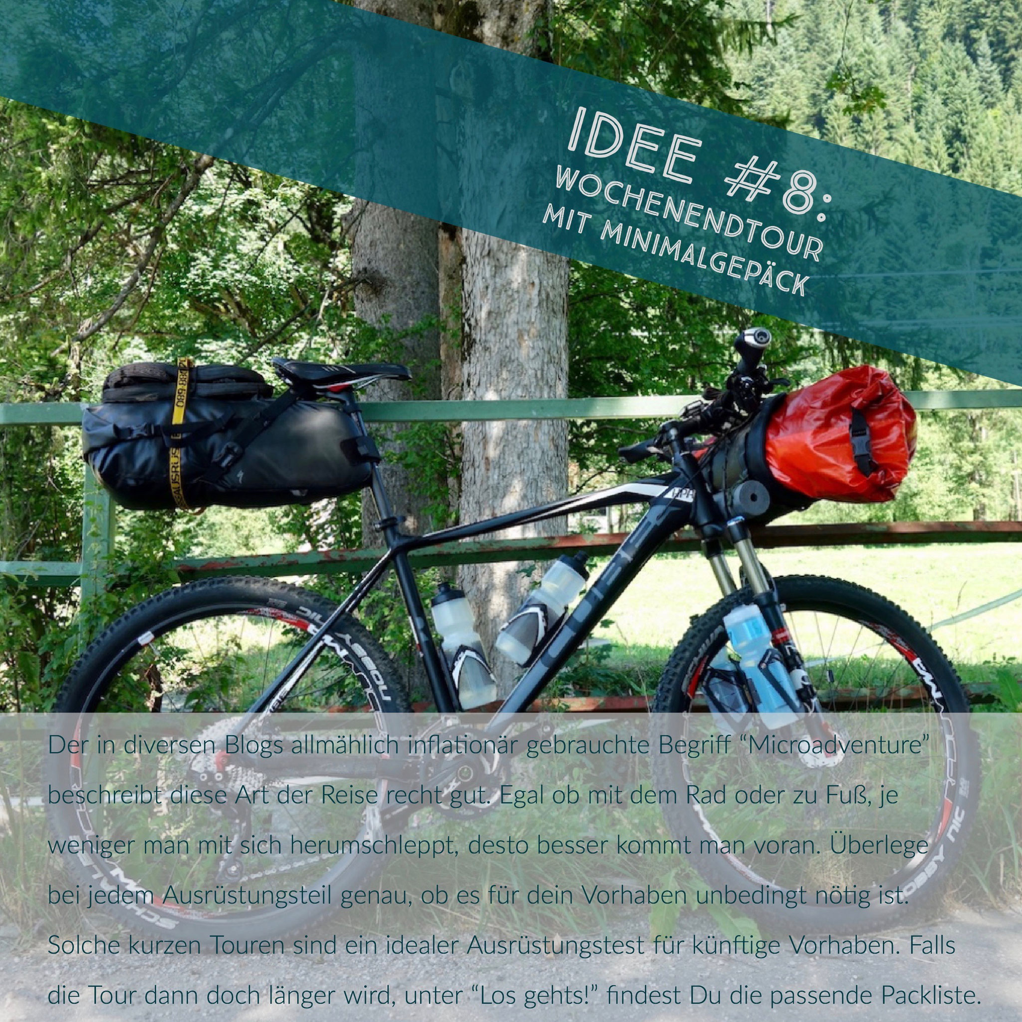 MTB, Bikepacking, Cube, Specialized