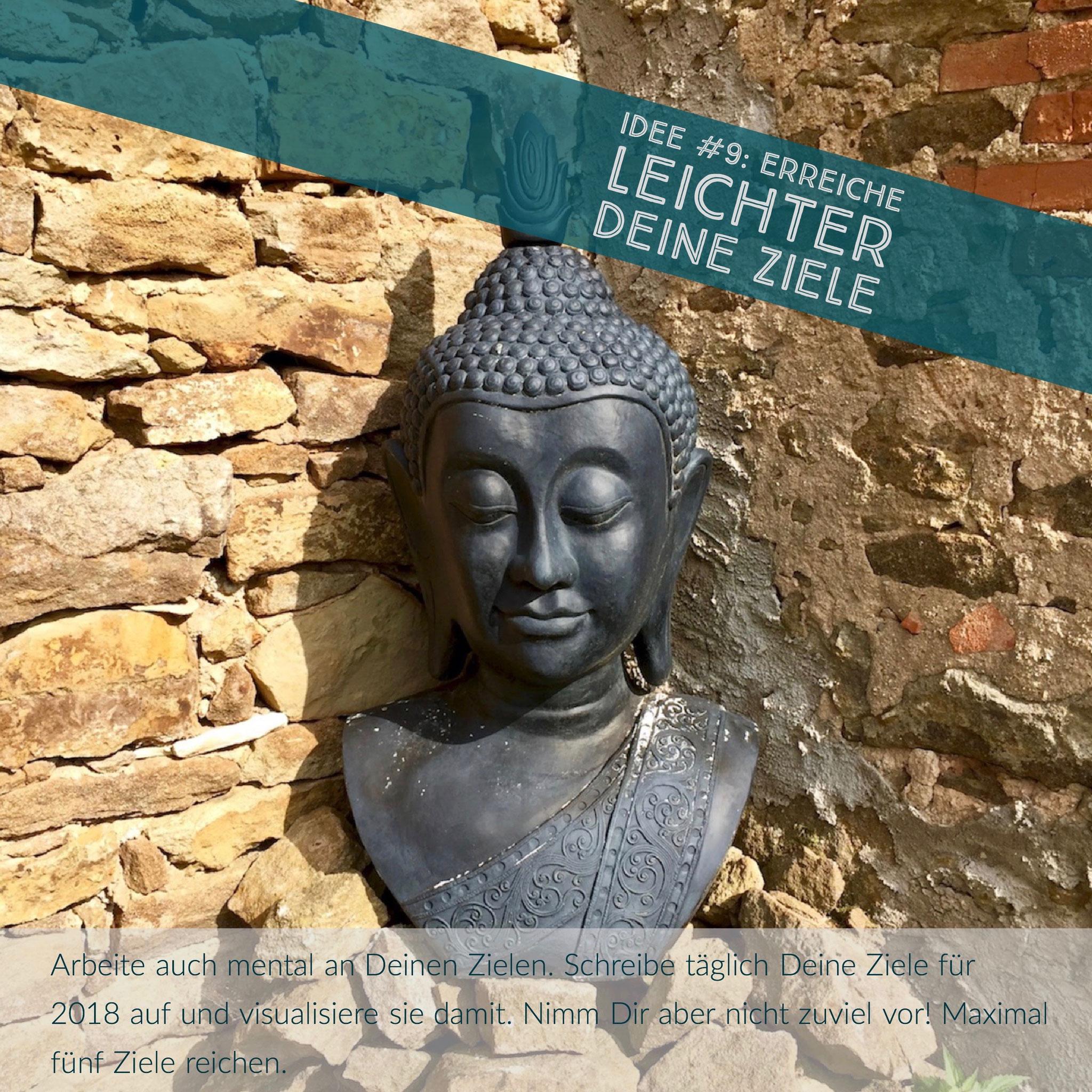 Buddha, Mantra, Garten