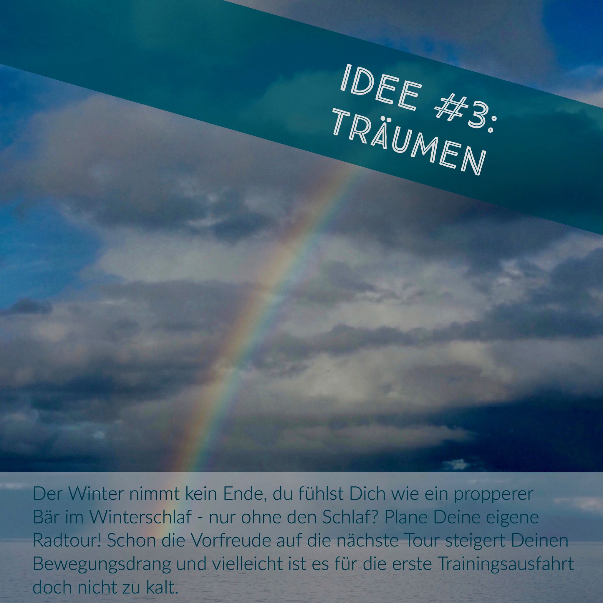 Regenbogen, Atlantik, Gewitterstimmung