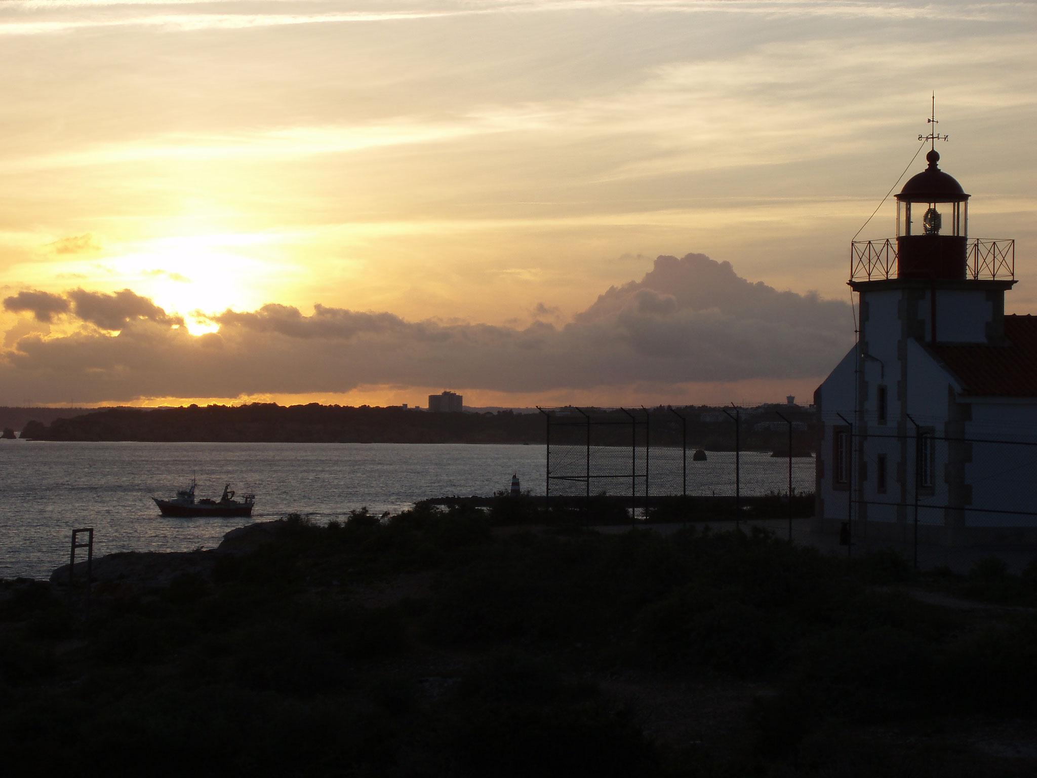 Leuchtturm bei Setubal