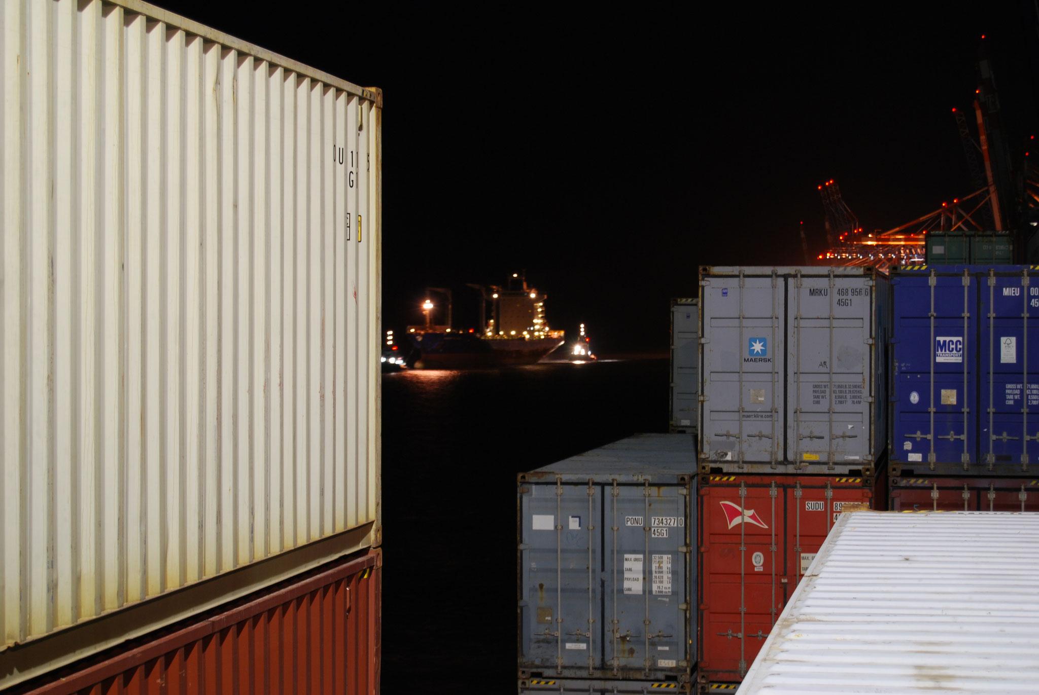 Sicht aus der Kammer in Bremerhaven