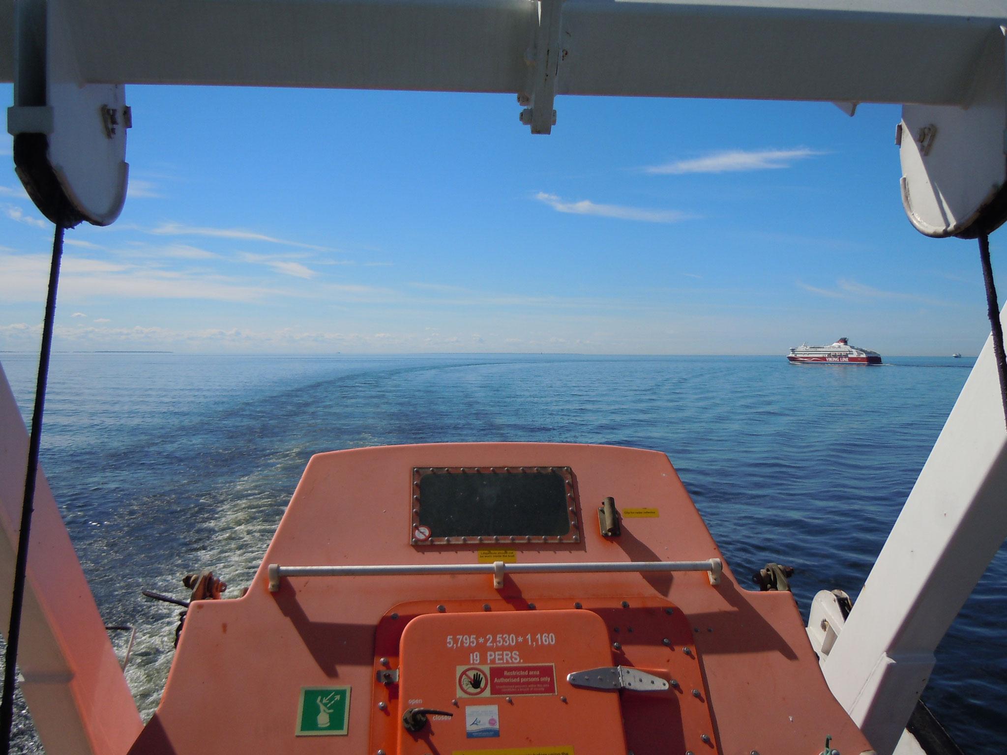 Auf der Ostsee