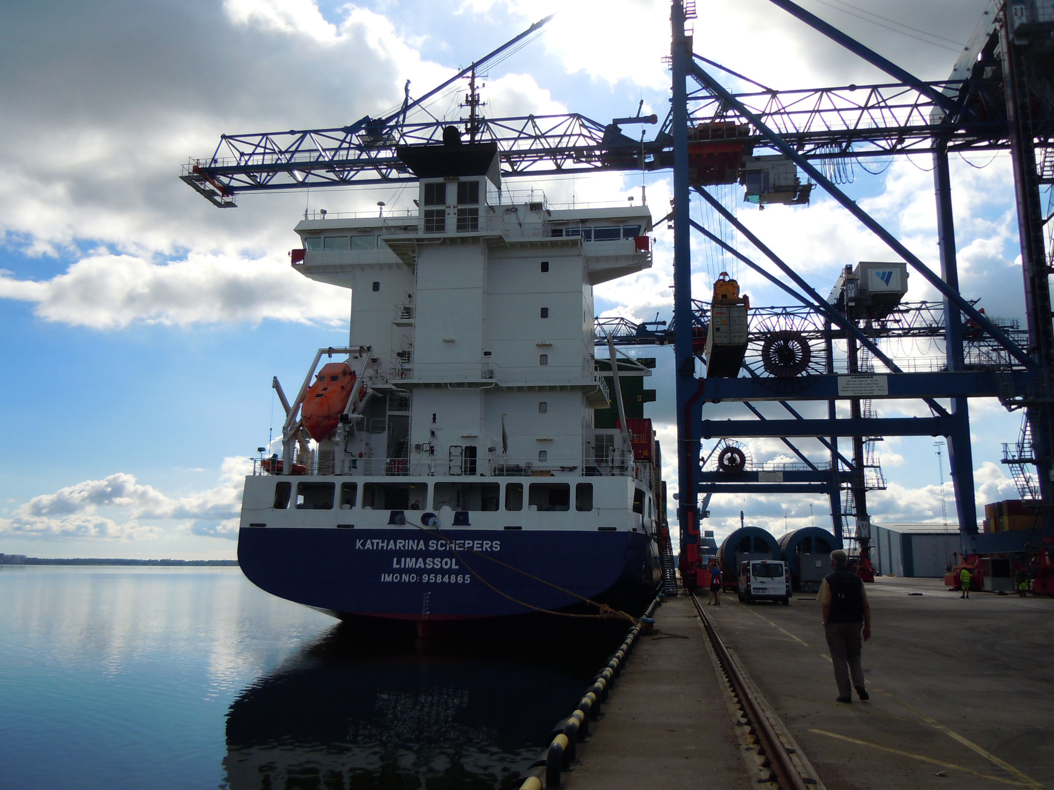 Im Hafen Norrköping