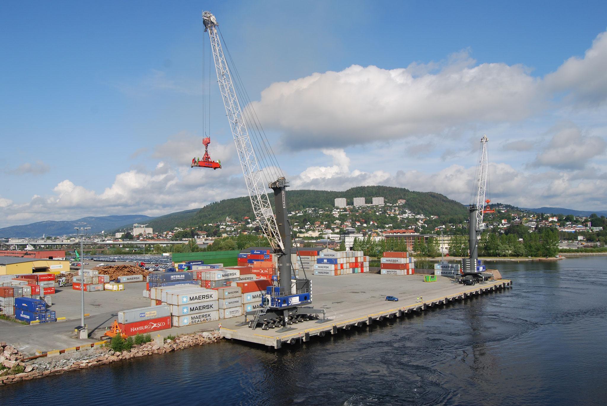 Containerterminal Drammen