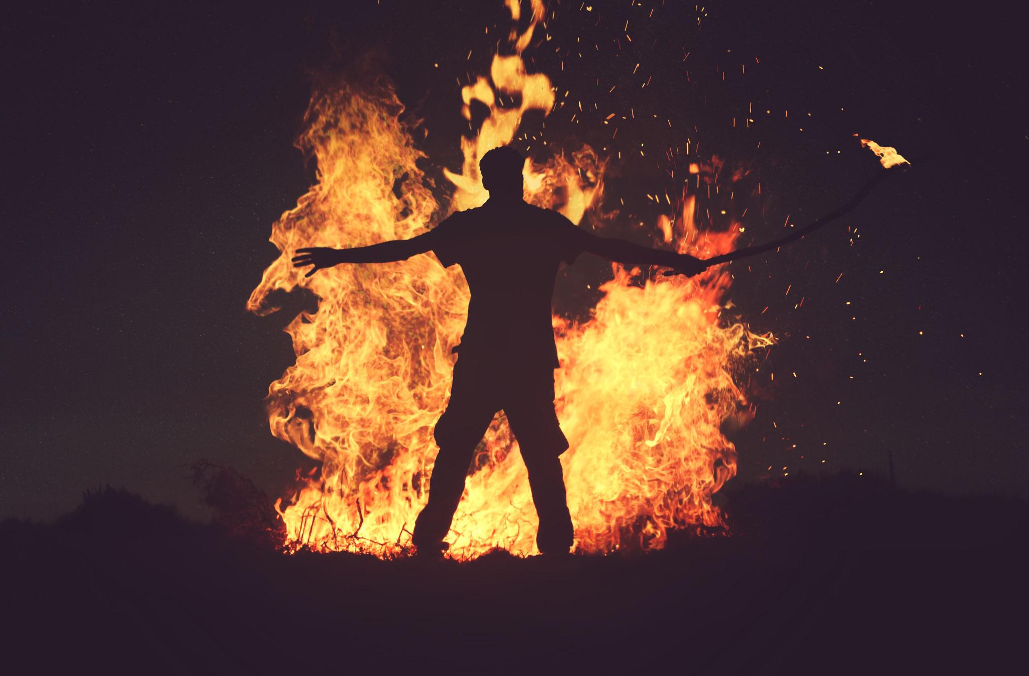 Ein Lagerfeuer für Helden