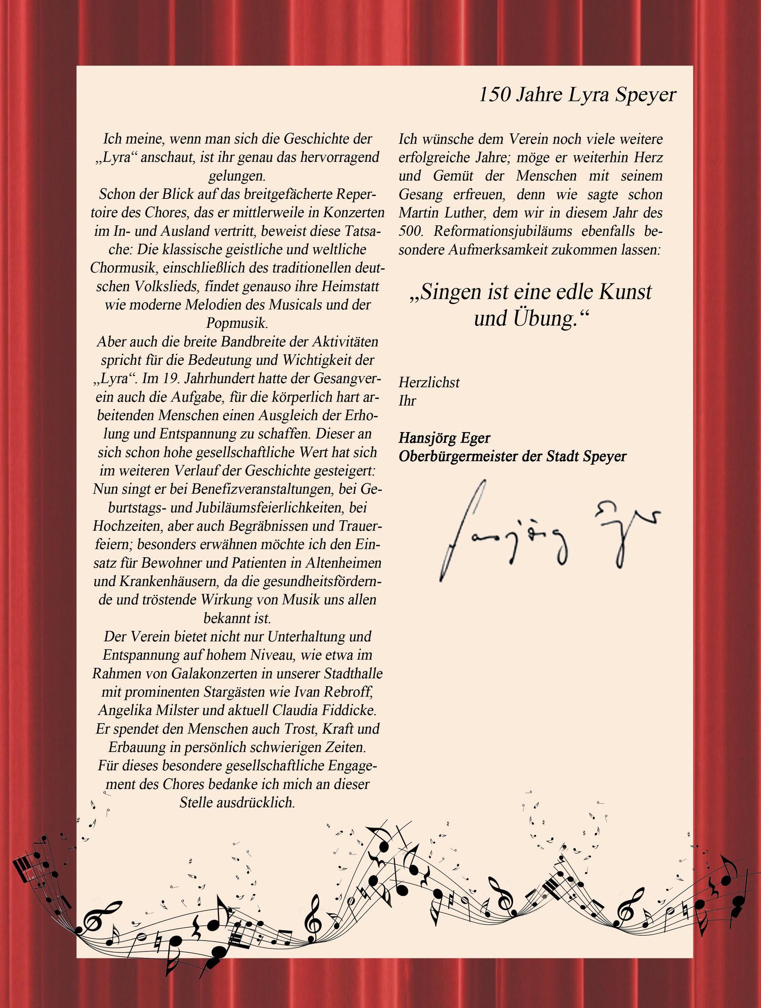 Grußwort OB Eger Seite 2