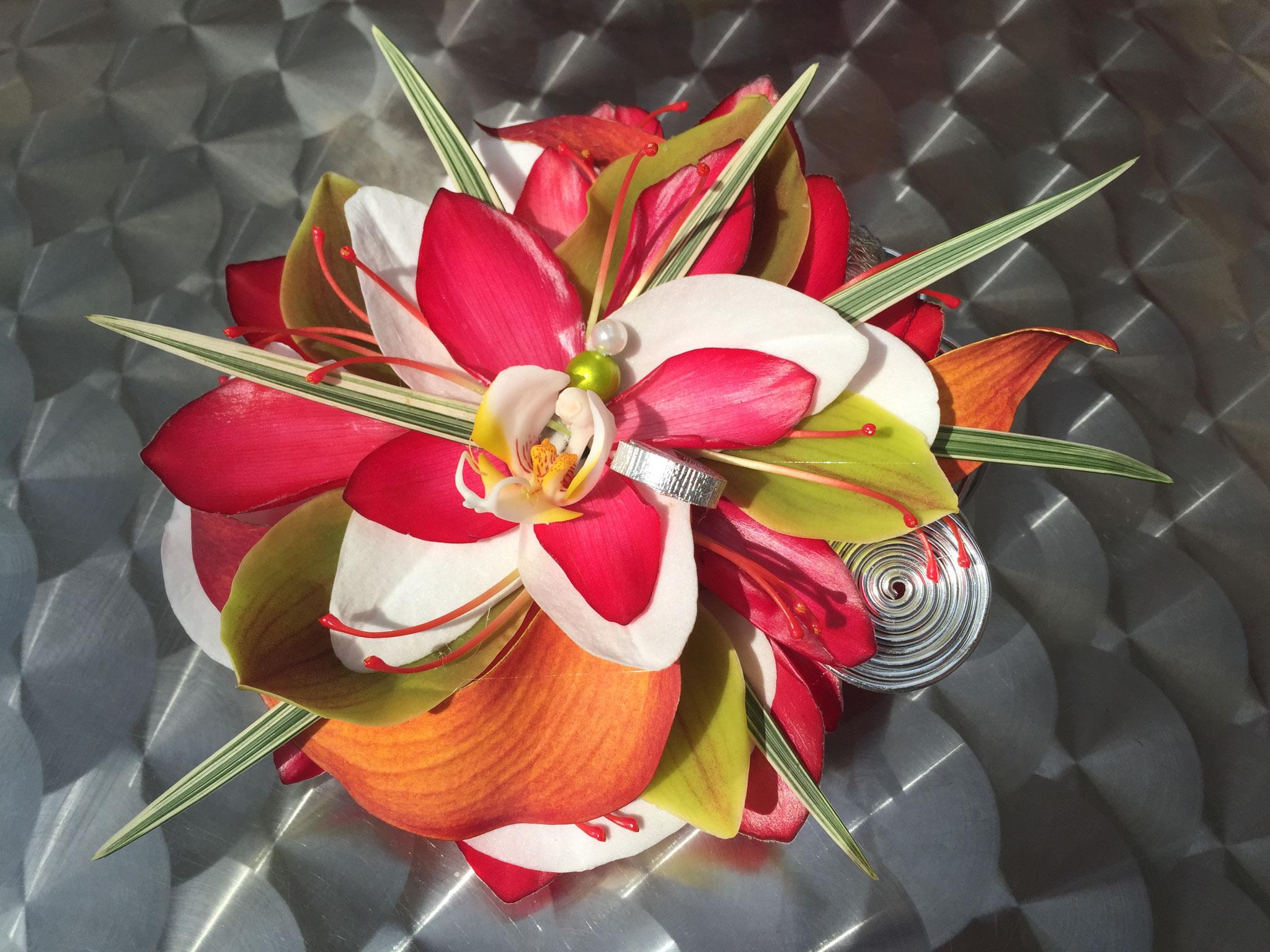 Fleur reconstituée