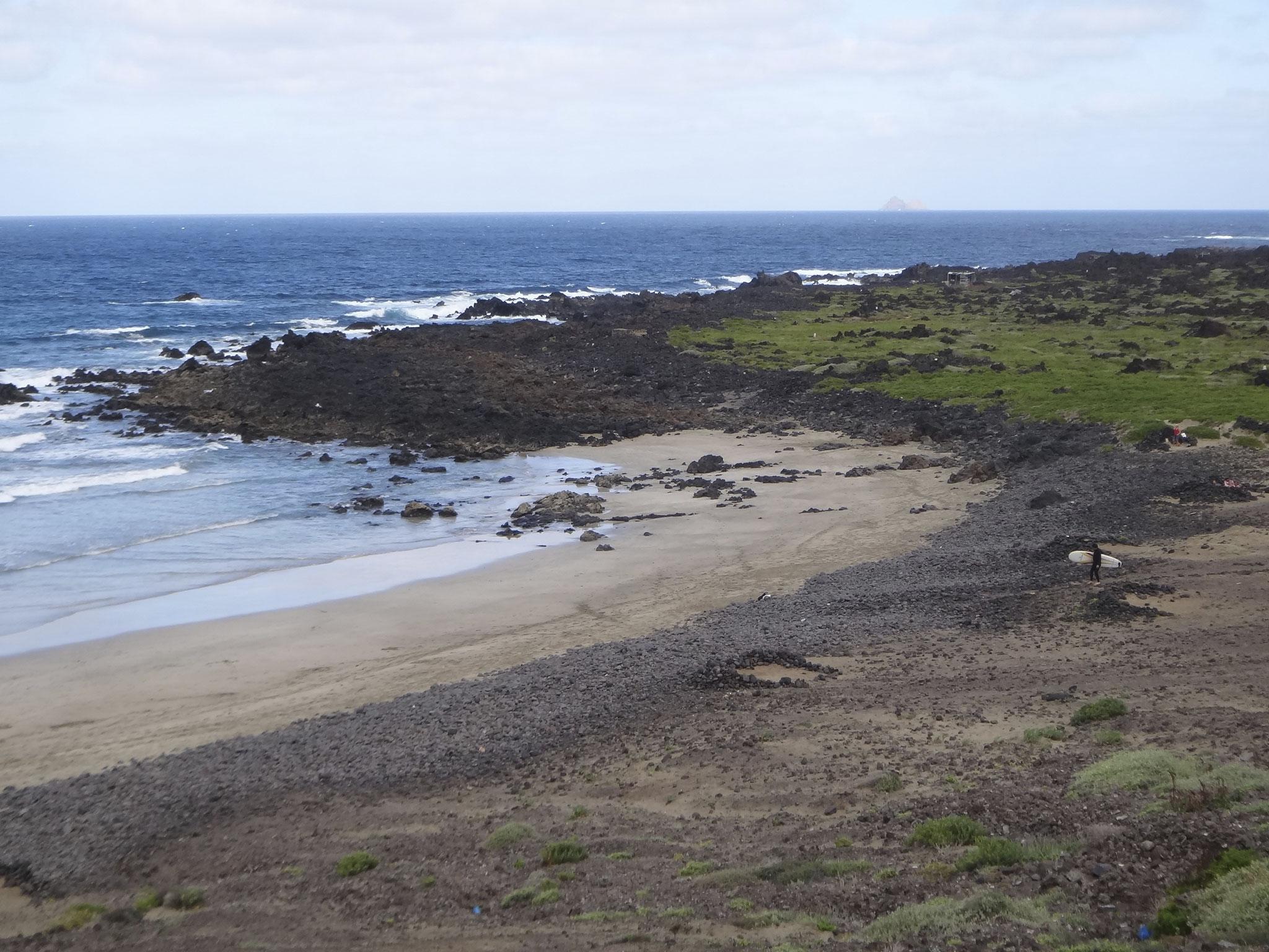 Playa de La Canteria Orzola
