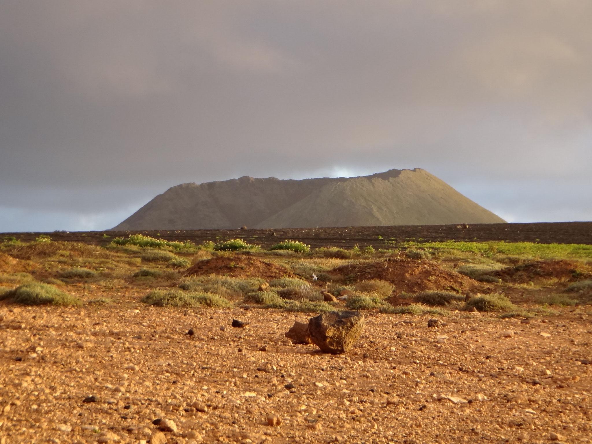 Spaziergang bei den Vulkanen