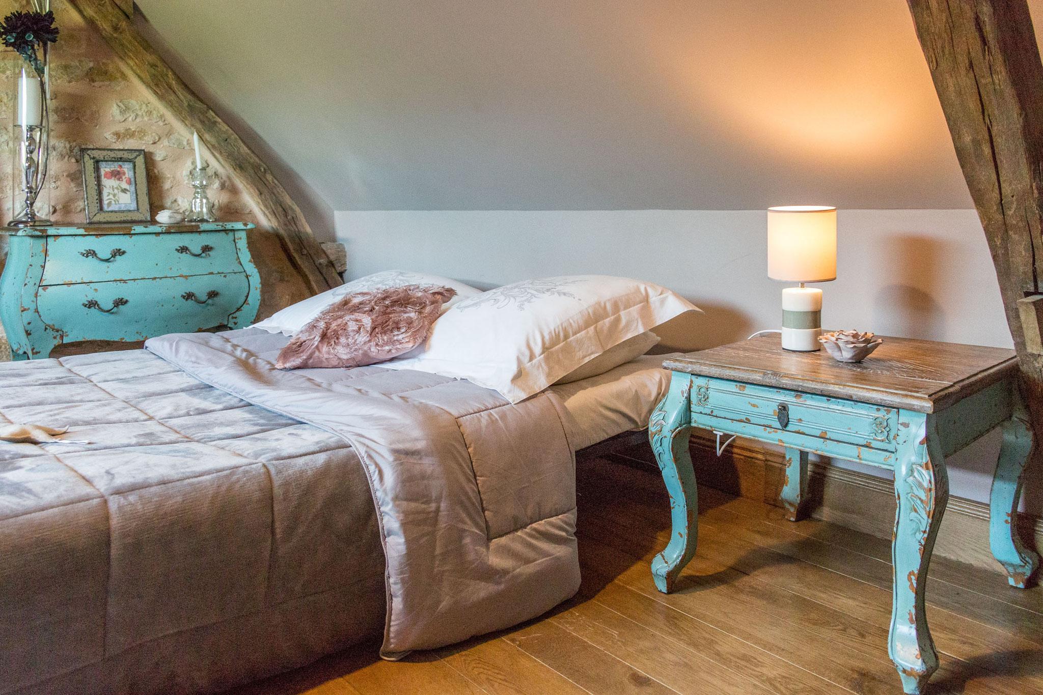 Chambre Les Voluptés de Marie, canapé lit convertible pour les enfants