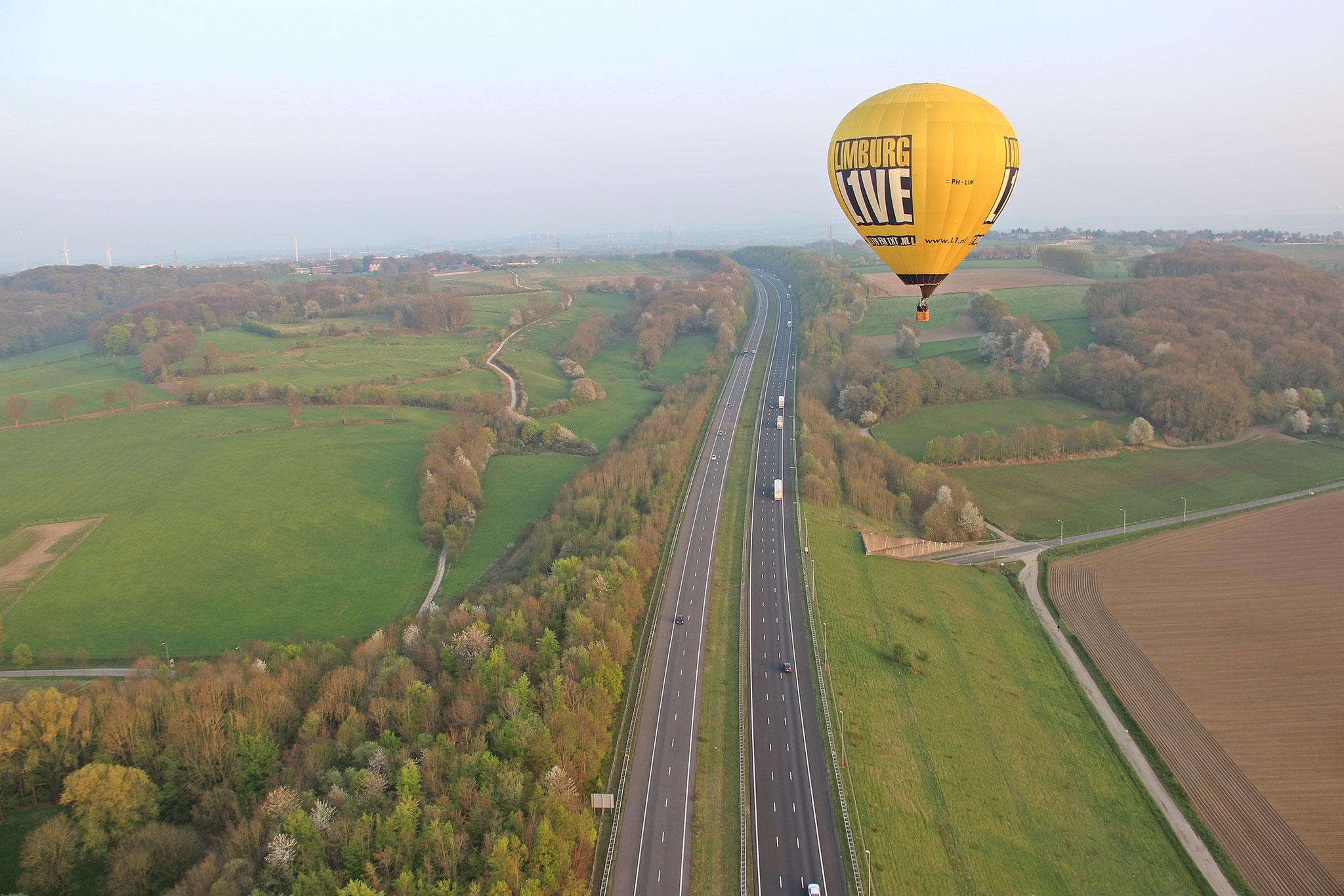 A76 Heerlen & de L1 ballon