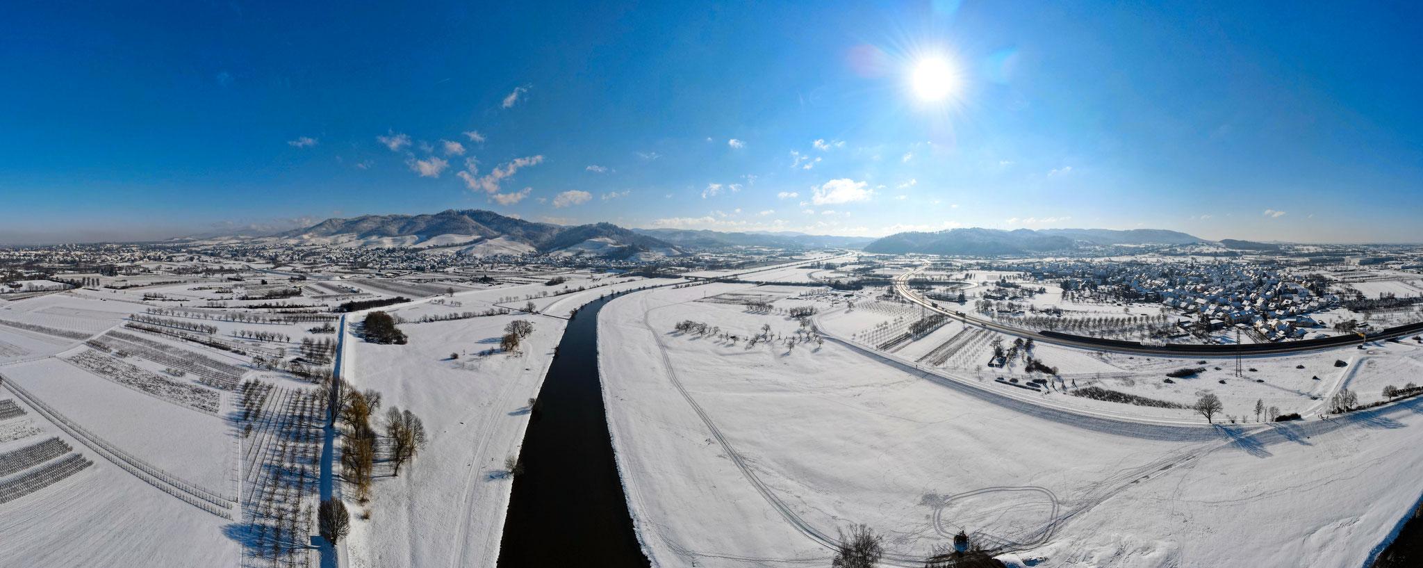 Winter - Panorama Kinzig